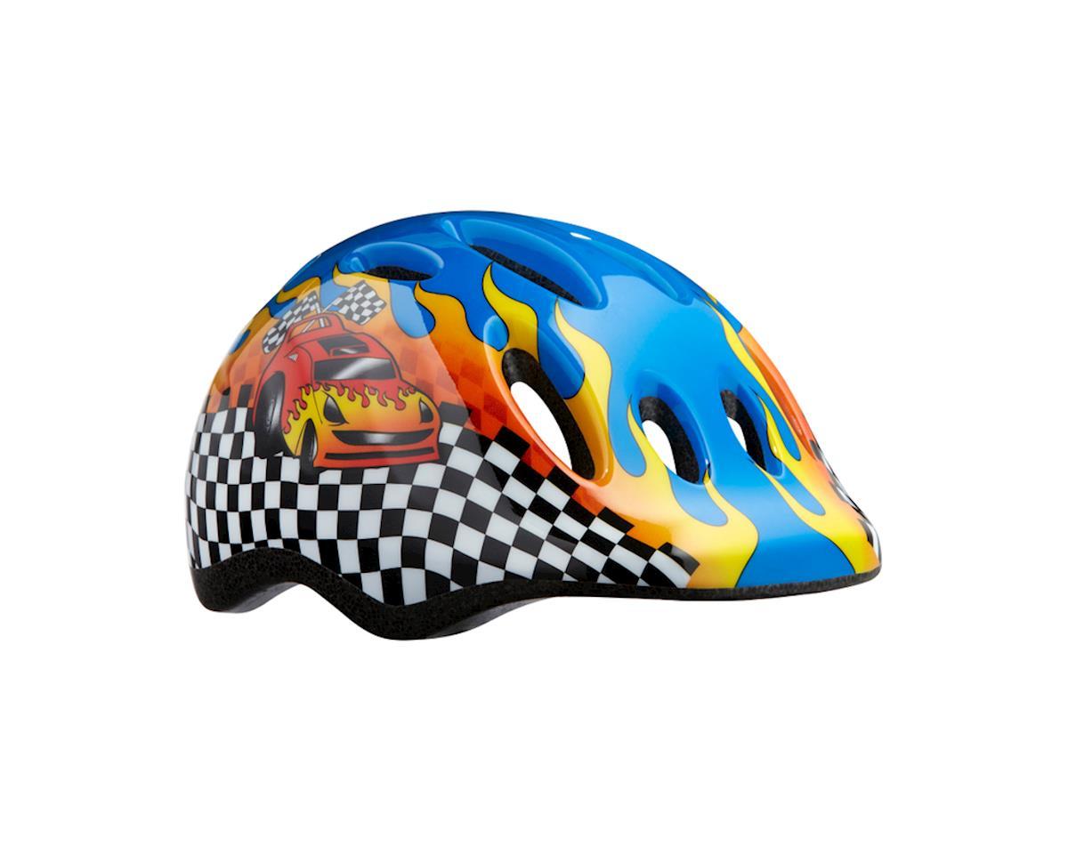 Shimano Lazer Max+ Helmet (Flames/Racecar/Race Stripe)