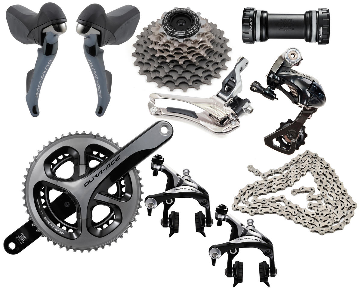 Shimano Dura-Ace 9000 Mid-Compact Groupset (52/38) (175mm) (11-23T)