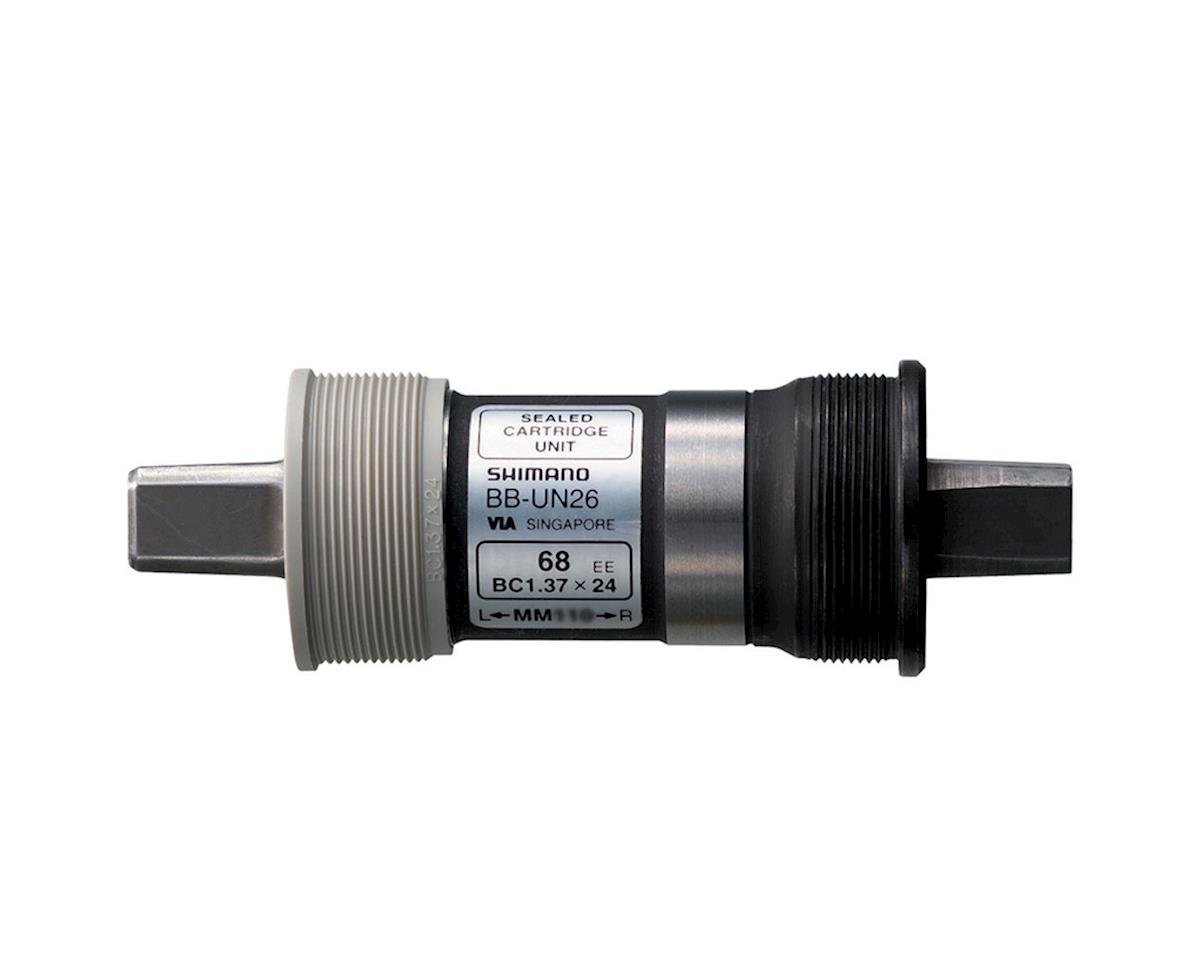 Shimano BB-UN26 Bottom Bracket (68mm) (122.5mm) (English)