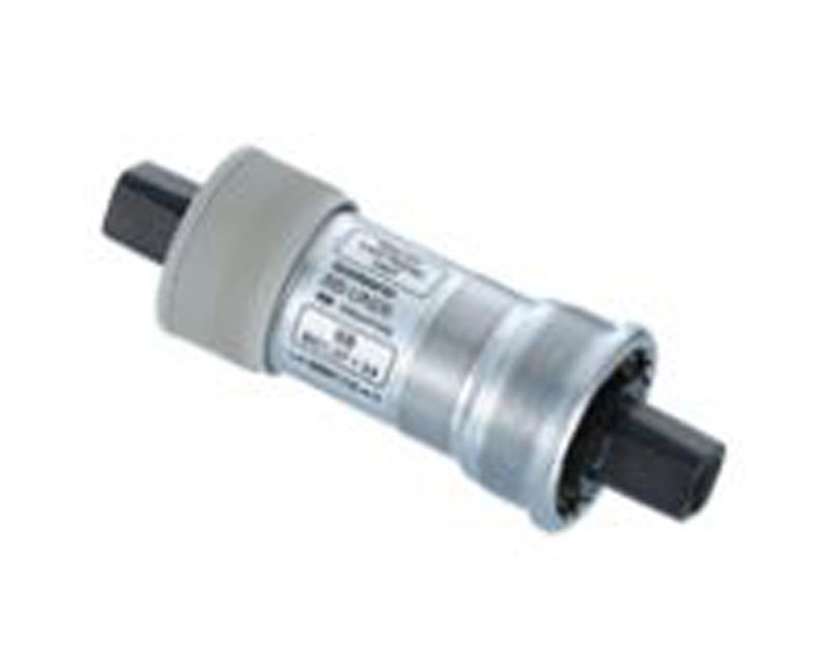 Shimano CARTRIDGE BOTTOM BRACKET, BB-UN26 AXLE:122.5MM(LL123), SHELL:ITALIAN 70MM, FOR CHAIN LINE:50MM, W/O FIXING BOLT