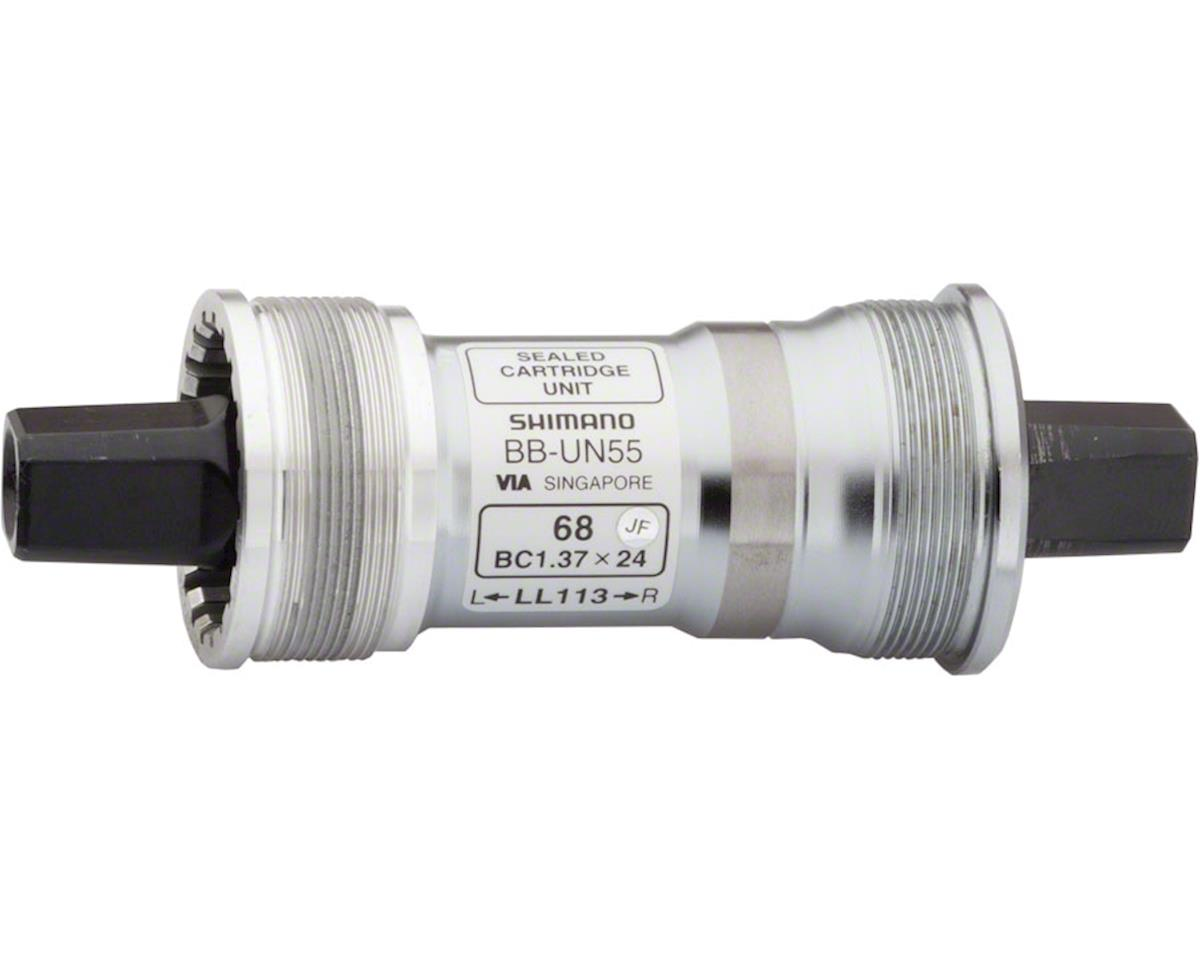 Shimano BB-UN55 Bottom Bracket w/ Fixing Bolt (70mm) (115mm) (Italian)