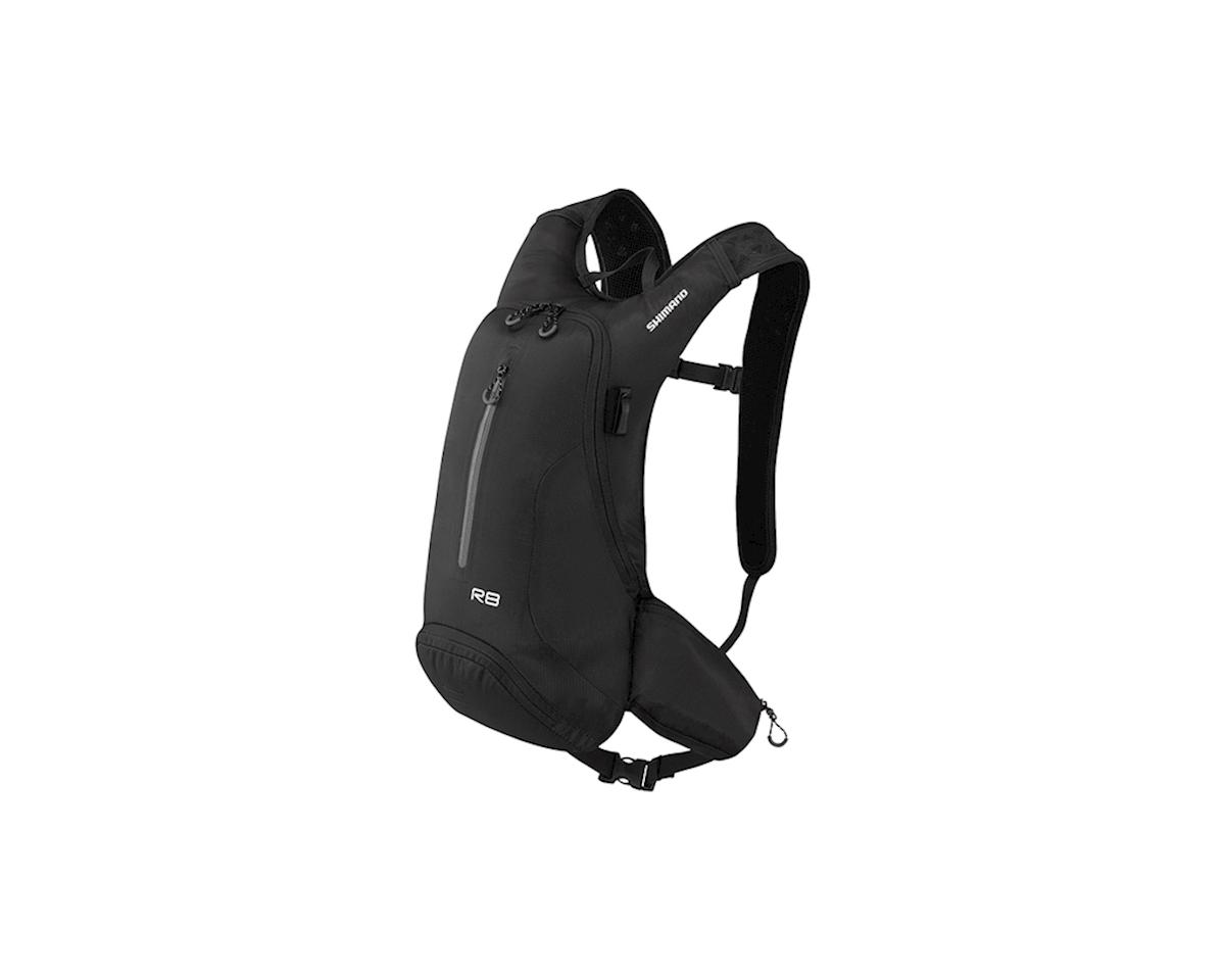 Shimano Rokko 8 Hydration Daypack (Black) (8L)