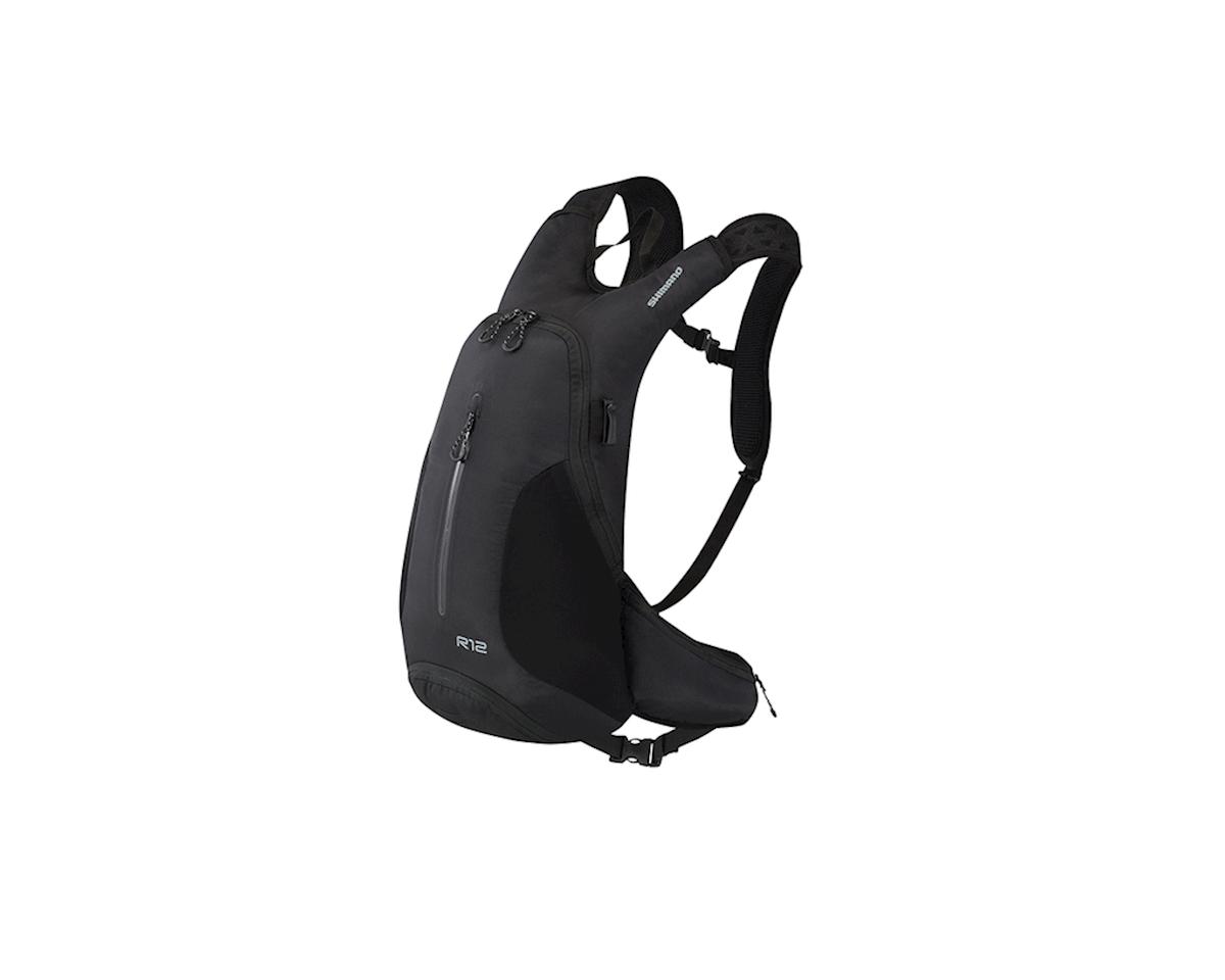 Shimano Rokko 12 Hydration Daypack (Black) (12L)
