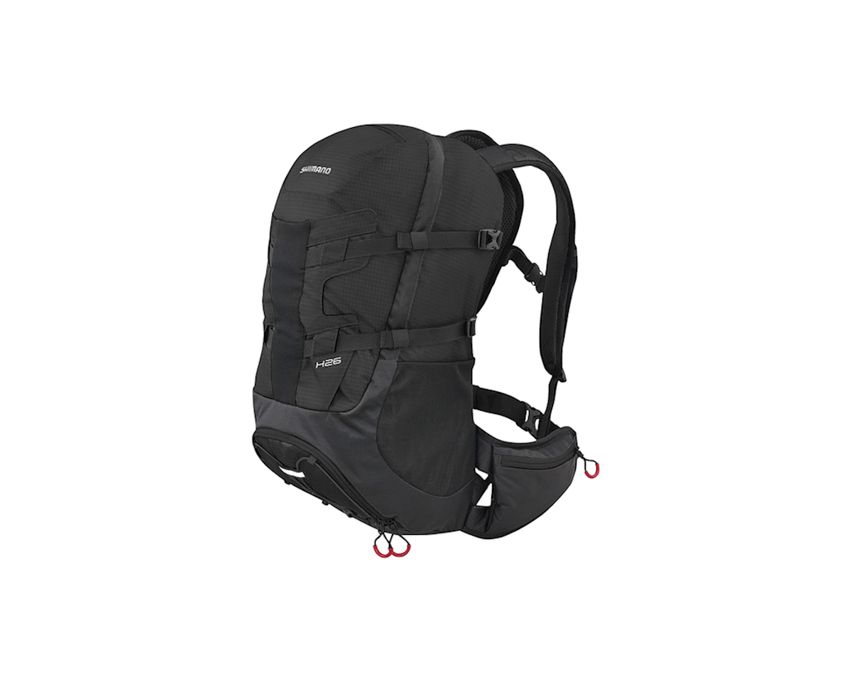 Shimano Hotaka 26 Backpack (Black/Red) (26L)