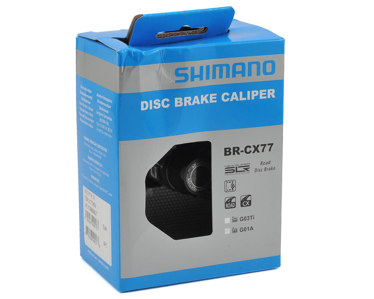 Shimano BR-CX77 Cyclocross Disc Brake Caliper (Front Or Rear)