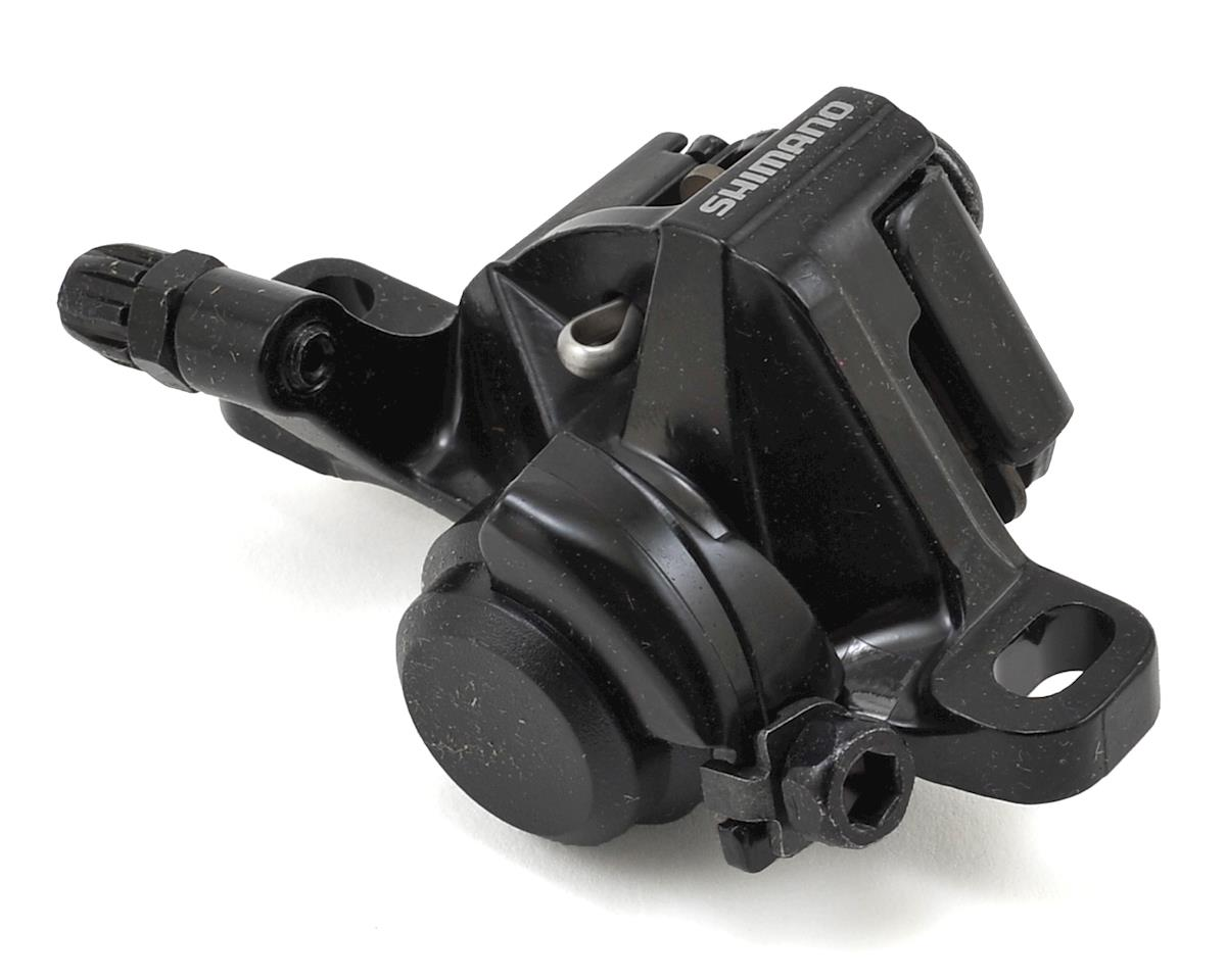 Shimano BR-M375-L Disc Brake Caliper With Resin Pads (Front Or Rear) (Black)
