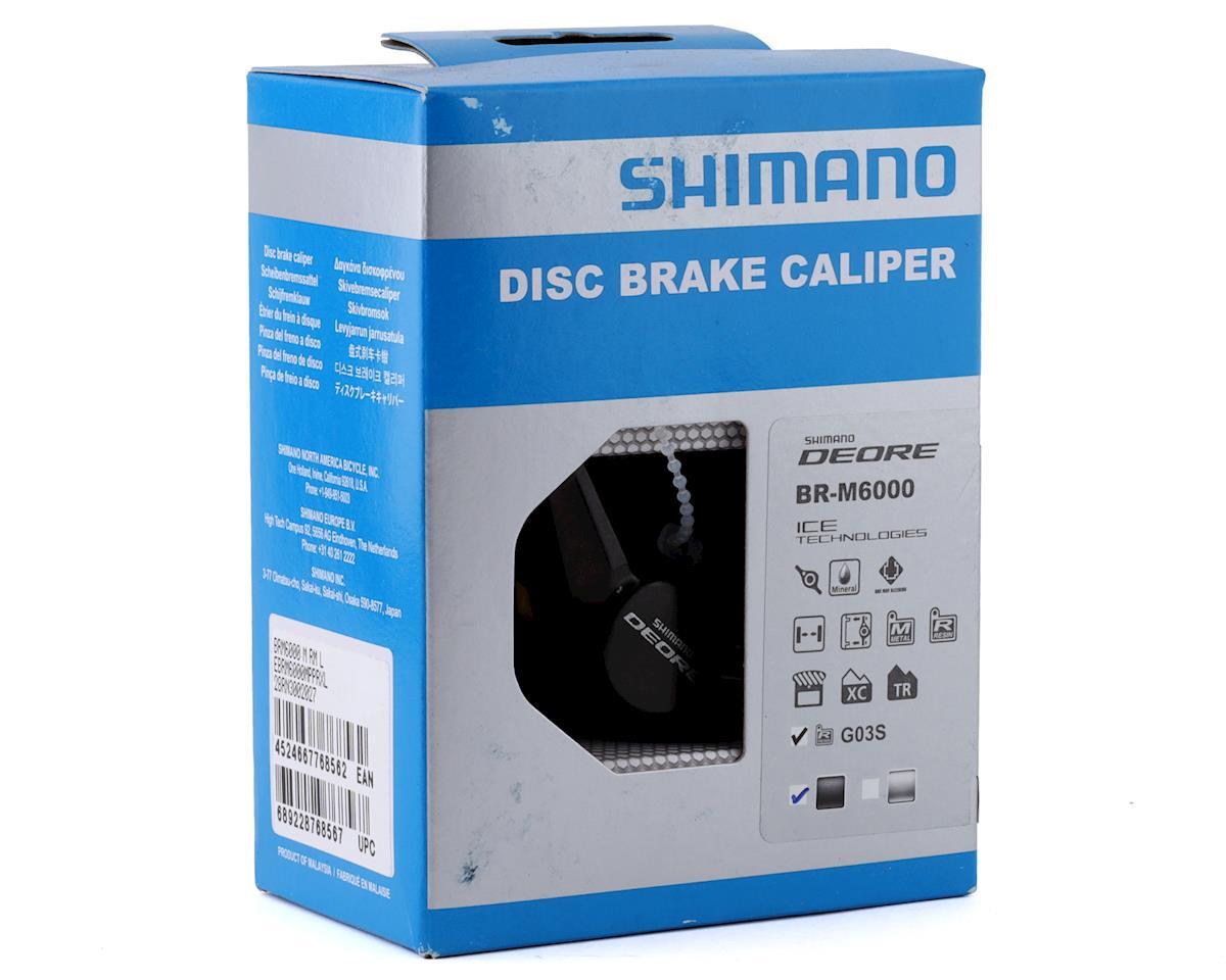 Shimano Deore BR-M6000 Disc Brake Caliper (Black) (Front or Rear)