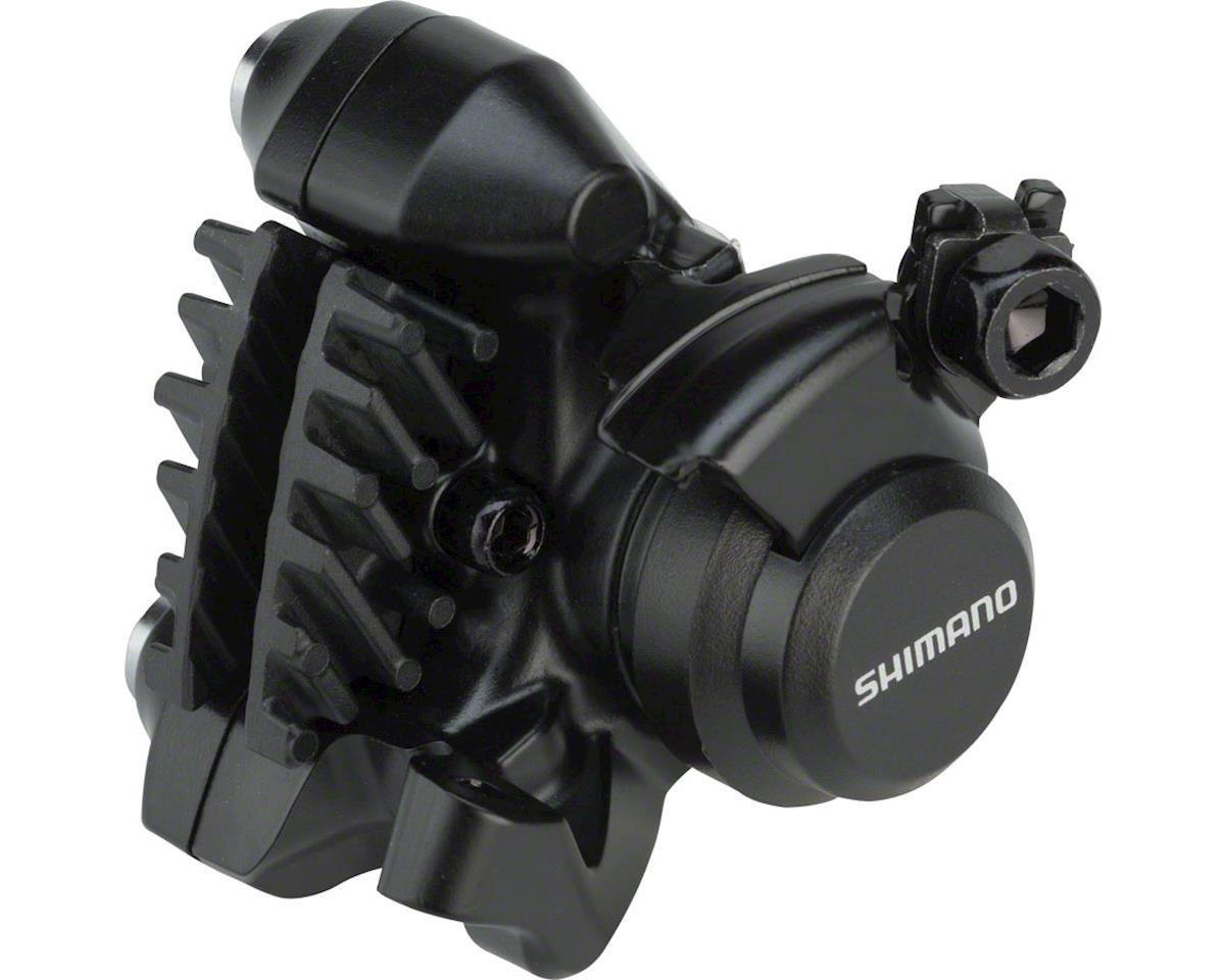 Shimano BR-RS305 Flat-Mount Disc Brake Caliper with Fins (Rear)