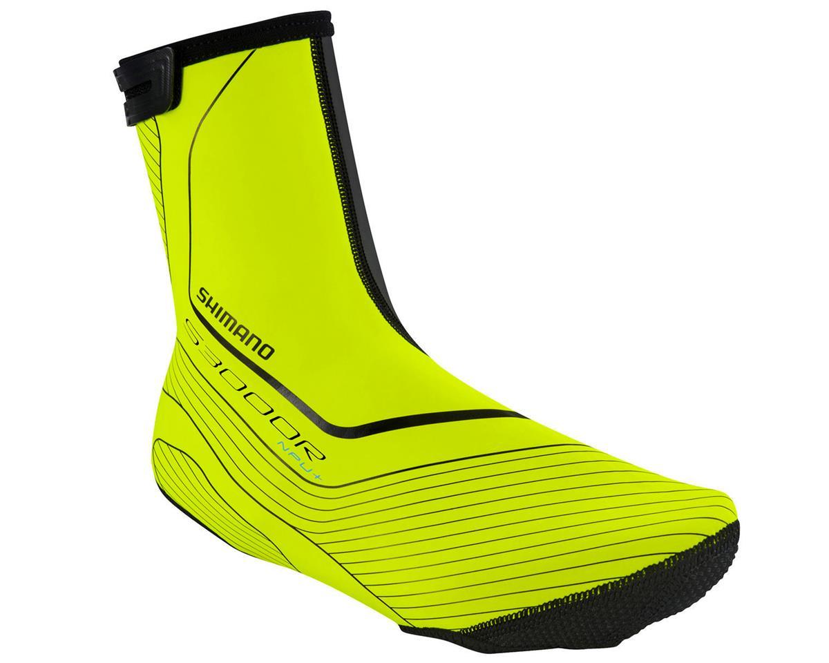 Shimano Asphalt NPU+ Cycling Shoe Covers (Neon Yellow)