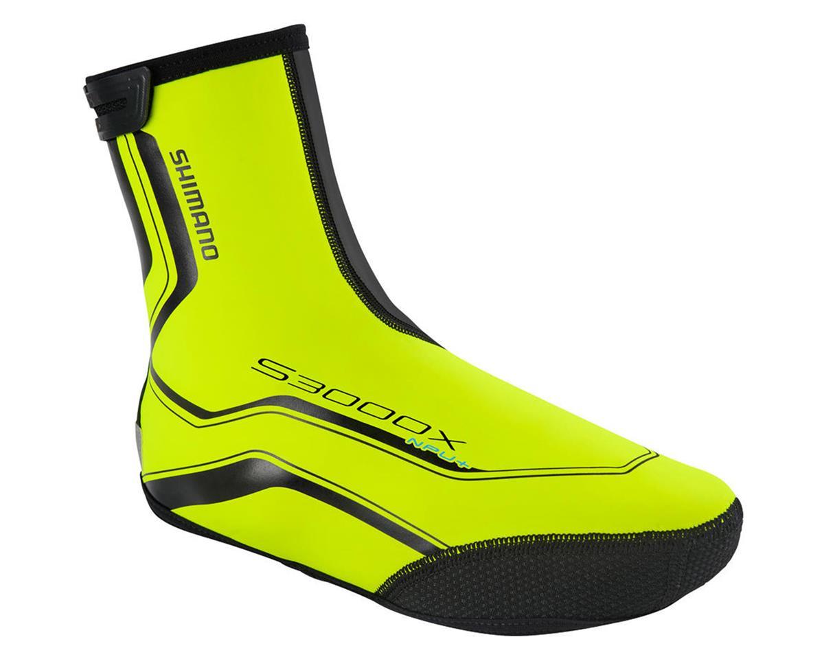 Shimano Trail NPU+ Cycling Shoe Covers (Neon Yellow)