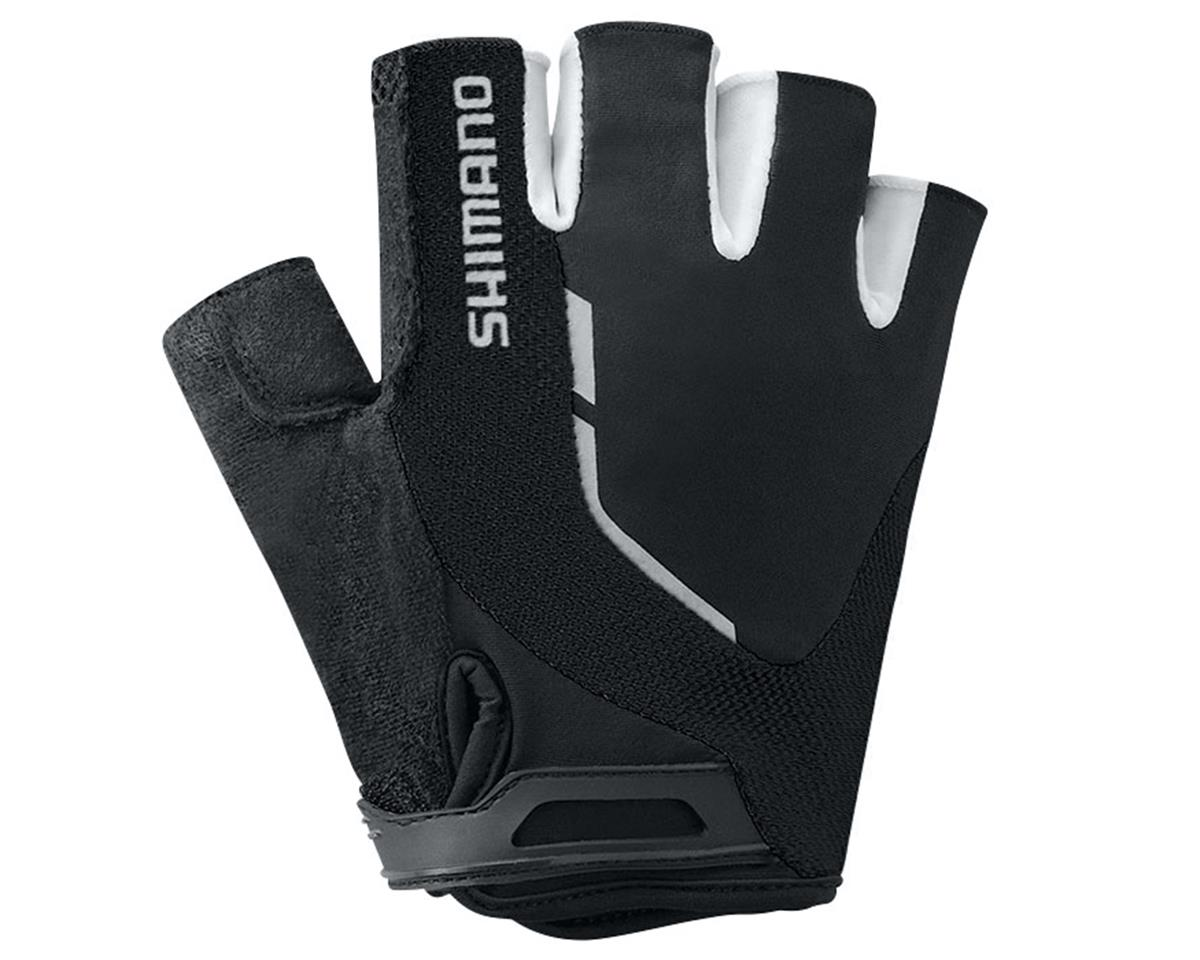 Shimano Escape Short Finger Bike Gloves (Black)