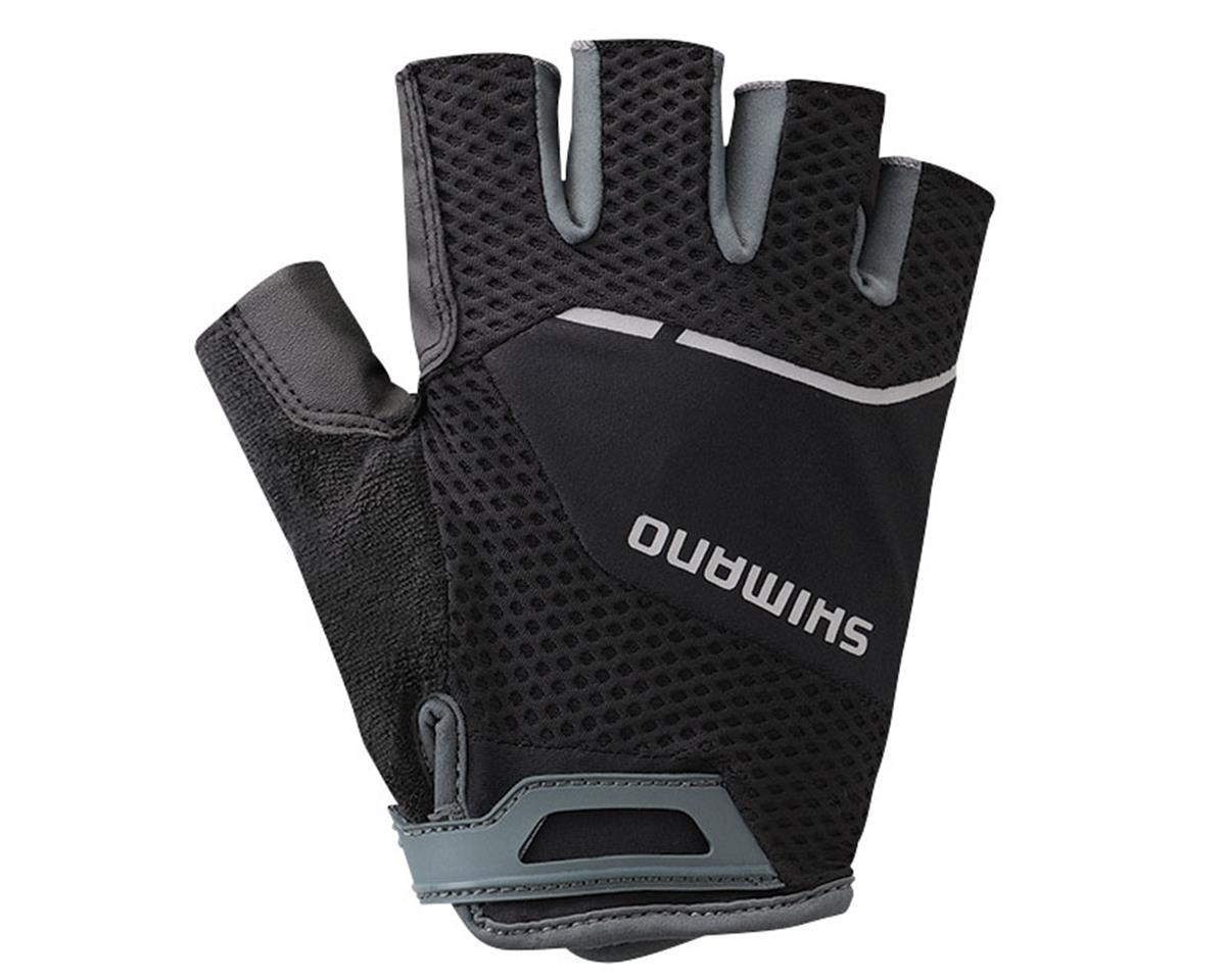 Shimano Explorer Short Finger Bike Gloves (Black)