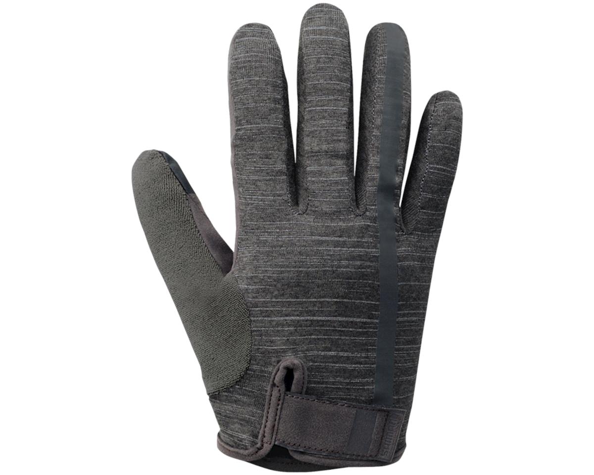 Shimano Transit Long Gloves (Raven Grey)