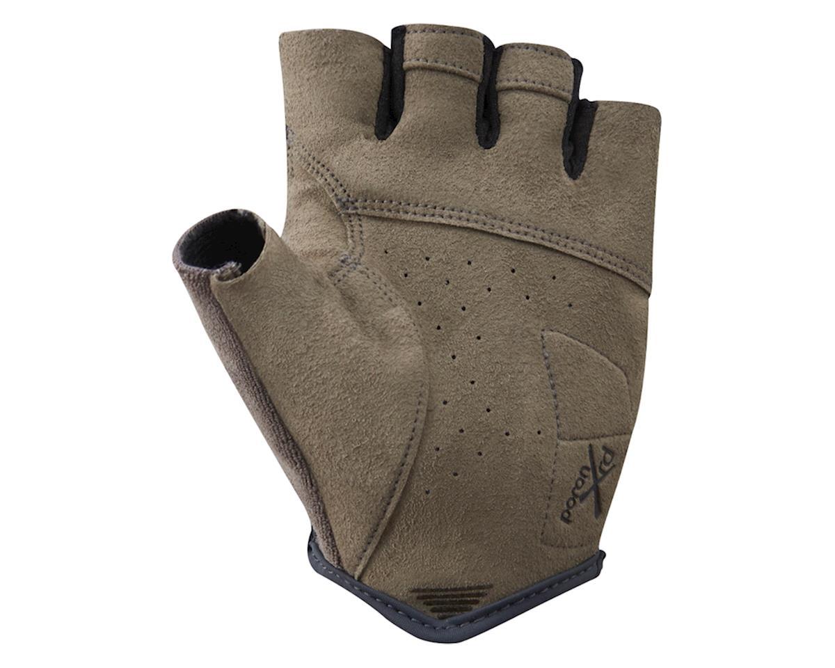 Shimano Transit Short Finger Gloves (Black/Brown) (XL)