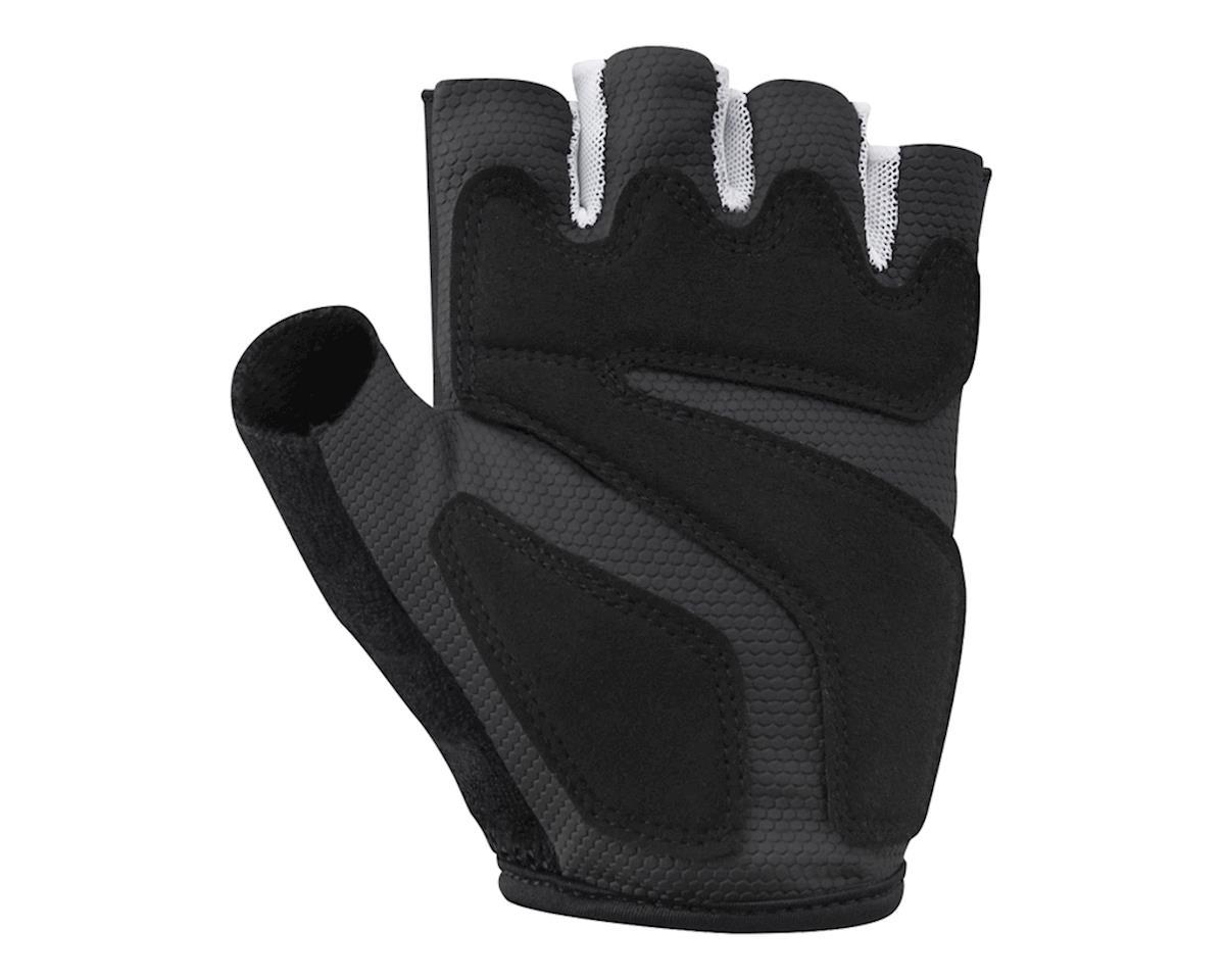 Shimano Airway Short Finger Gloves (Black/White) (M)