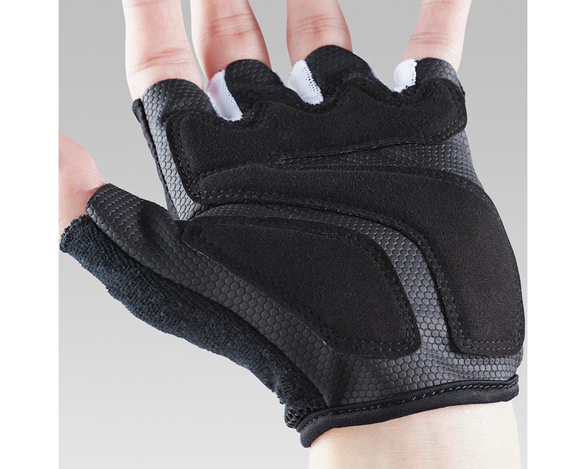 Image 5 for Shimano Airway Short Finger Gloves (Black/White) (L)