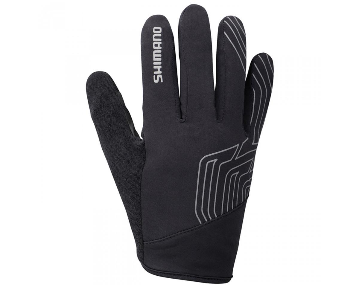 Shimano Light Winter Bike Gloves (Black) (L)