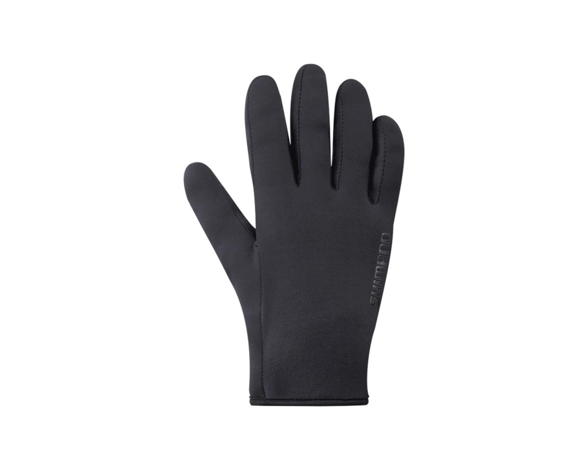 Shimano Transition Full Finger Gloves (Black) (L)