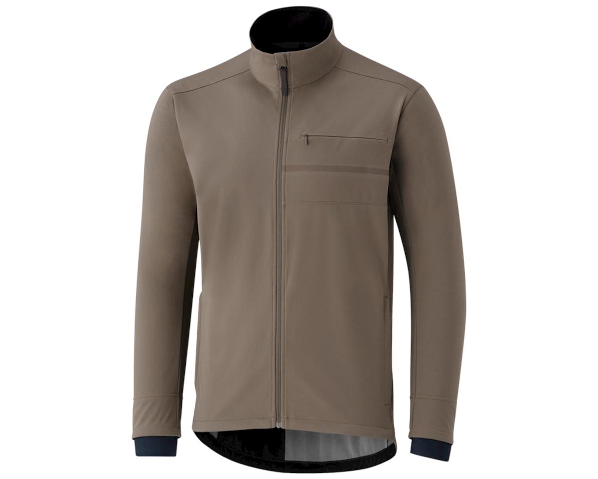 Shimano Transit Softshell Jacket (Morel Brown)