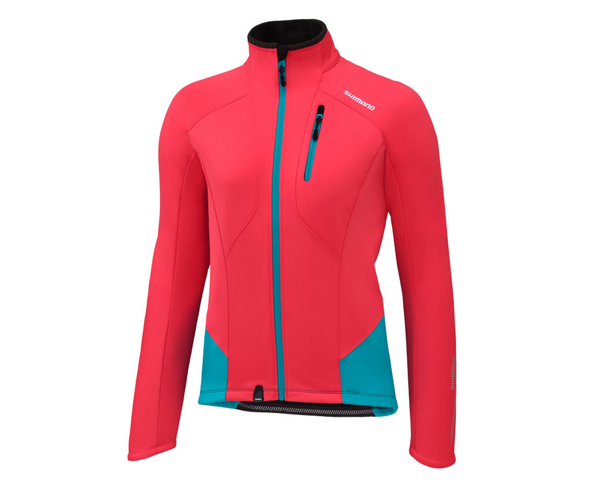 Shimano Women's Performance Windbreak Bike Jacket (Teaberry)