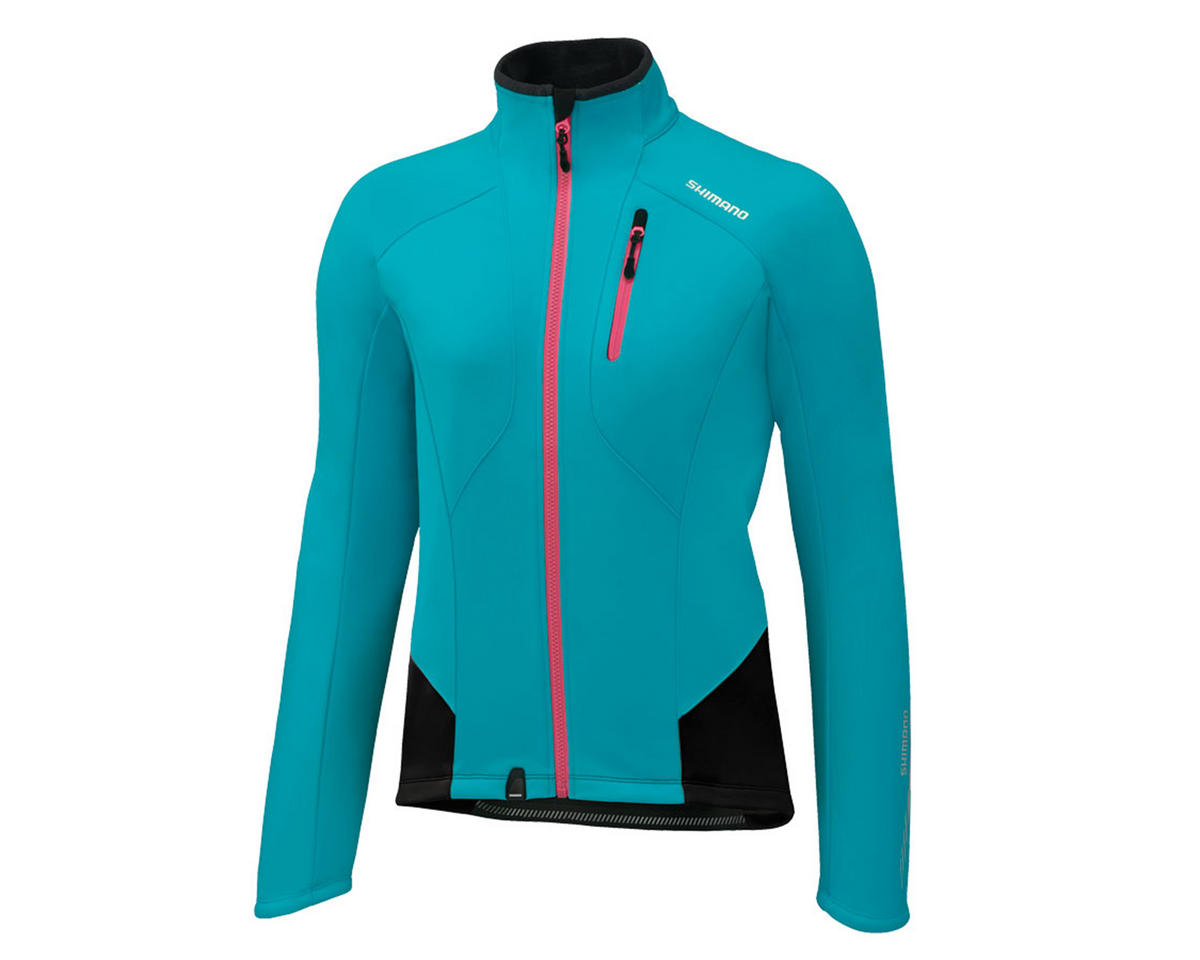 Shimano Women's Performance Windbreak Bike Jacket (Emerald Green) (XL)