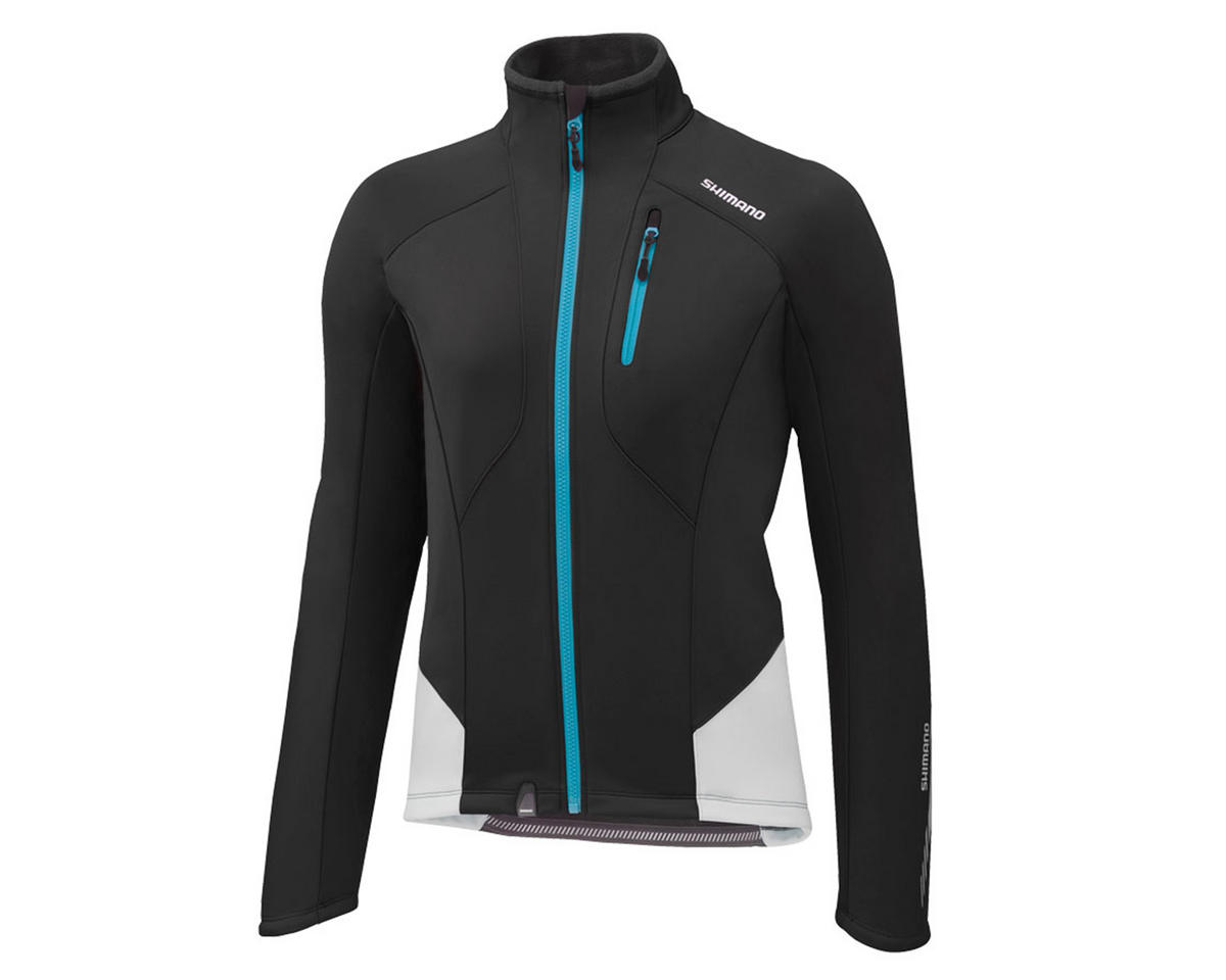 Shimano Women's Performance Windbreak Bike Jacket (Black) (L)