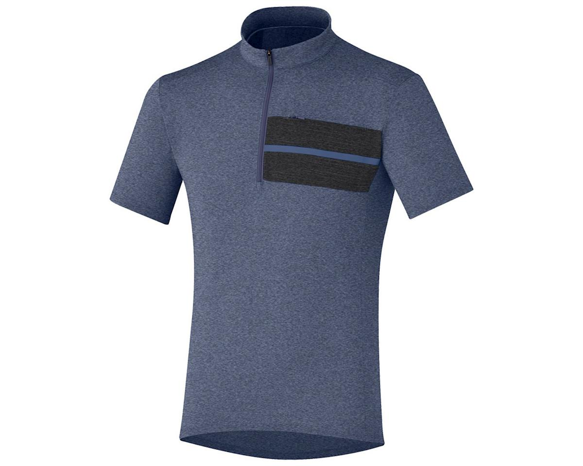 Shimano Transit Pavement Jersey (Crown Blue)