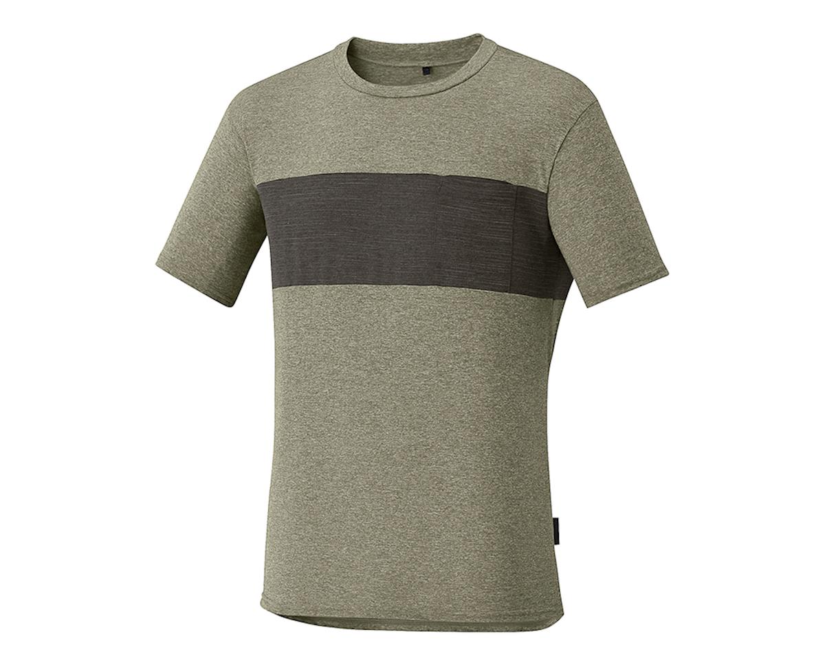 Shimano Transit T-Shirt Dusky Green (Dskgrn) (S) (S)