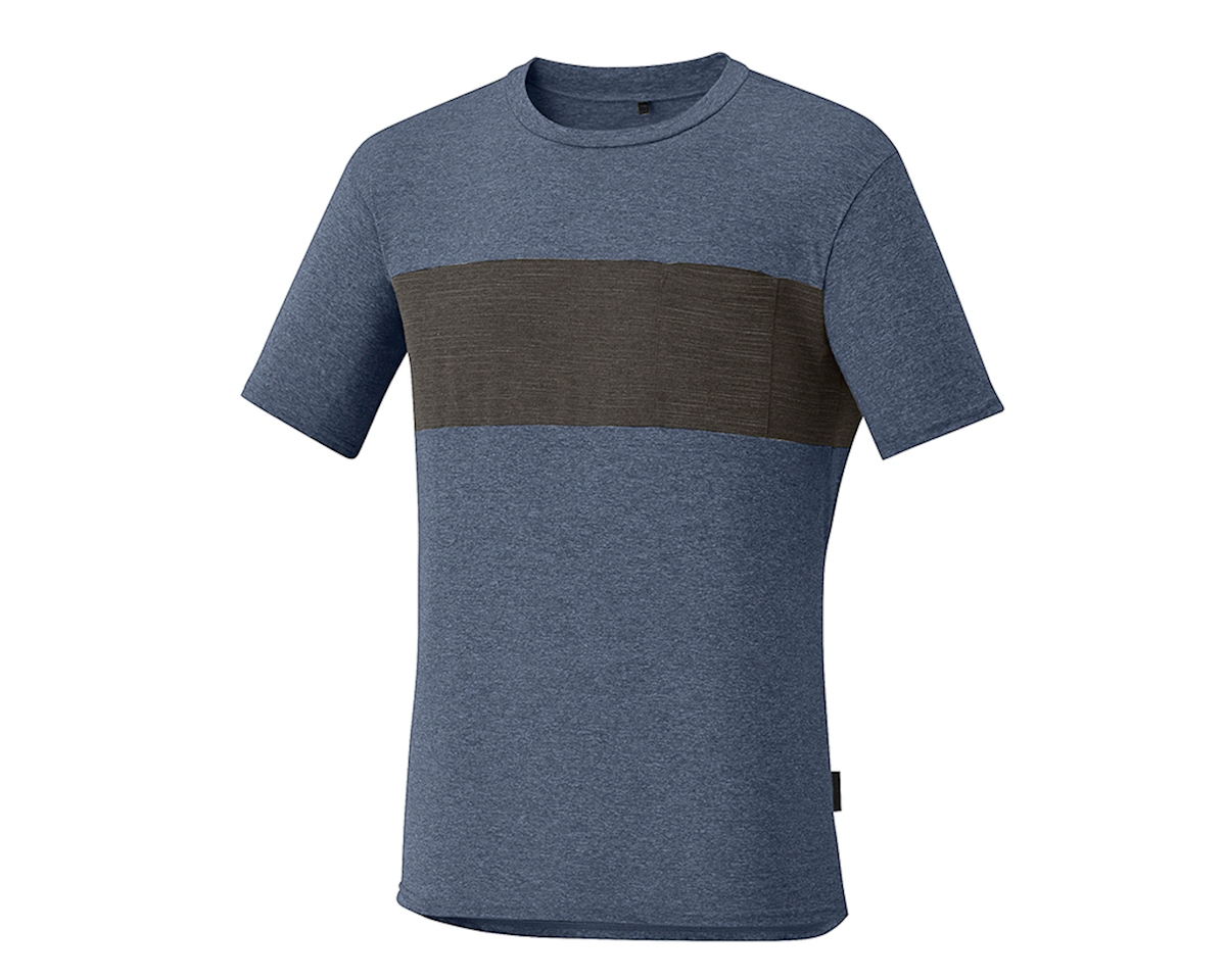 a1b7336f Shimano Transit T-Shirt (Navy) [ECWJSCSRS11MLNB-P]   Clothing ...