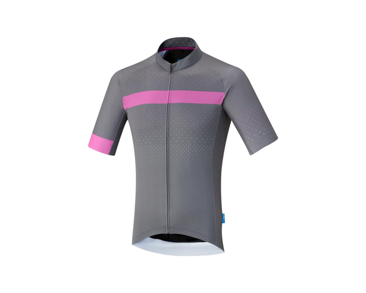 Shimano Breakaway Jersey (Gray/Pink)