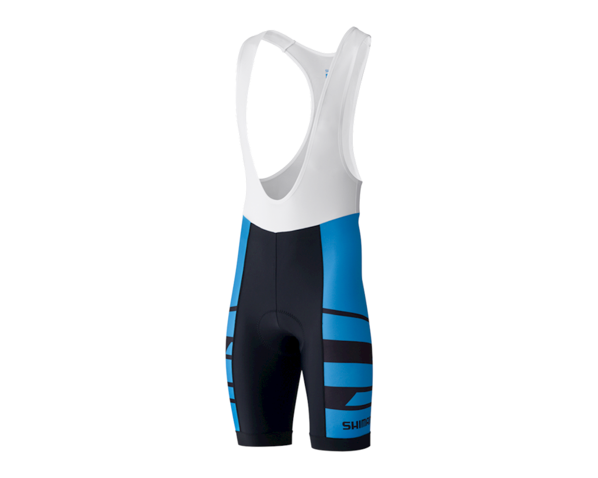 Shimano Team Bib Shorts (Blue)