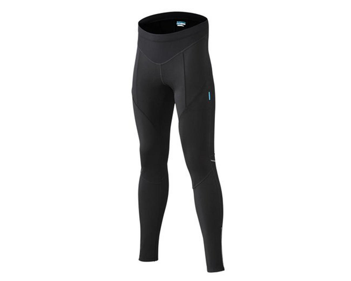 Shimano Performance Windbreak Long Cycling Tights (Black) (M)