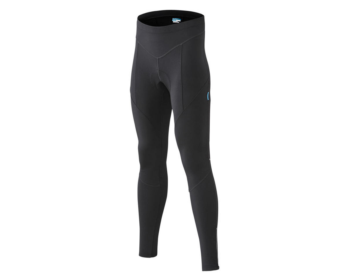 Shimano Performance Winter Long Cycling Tights (Black) (XL)