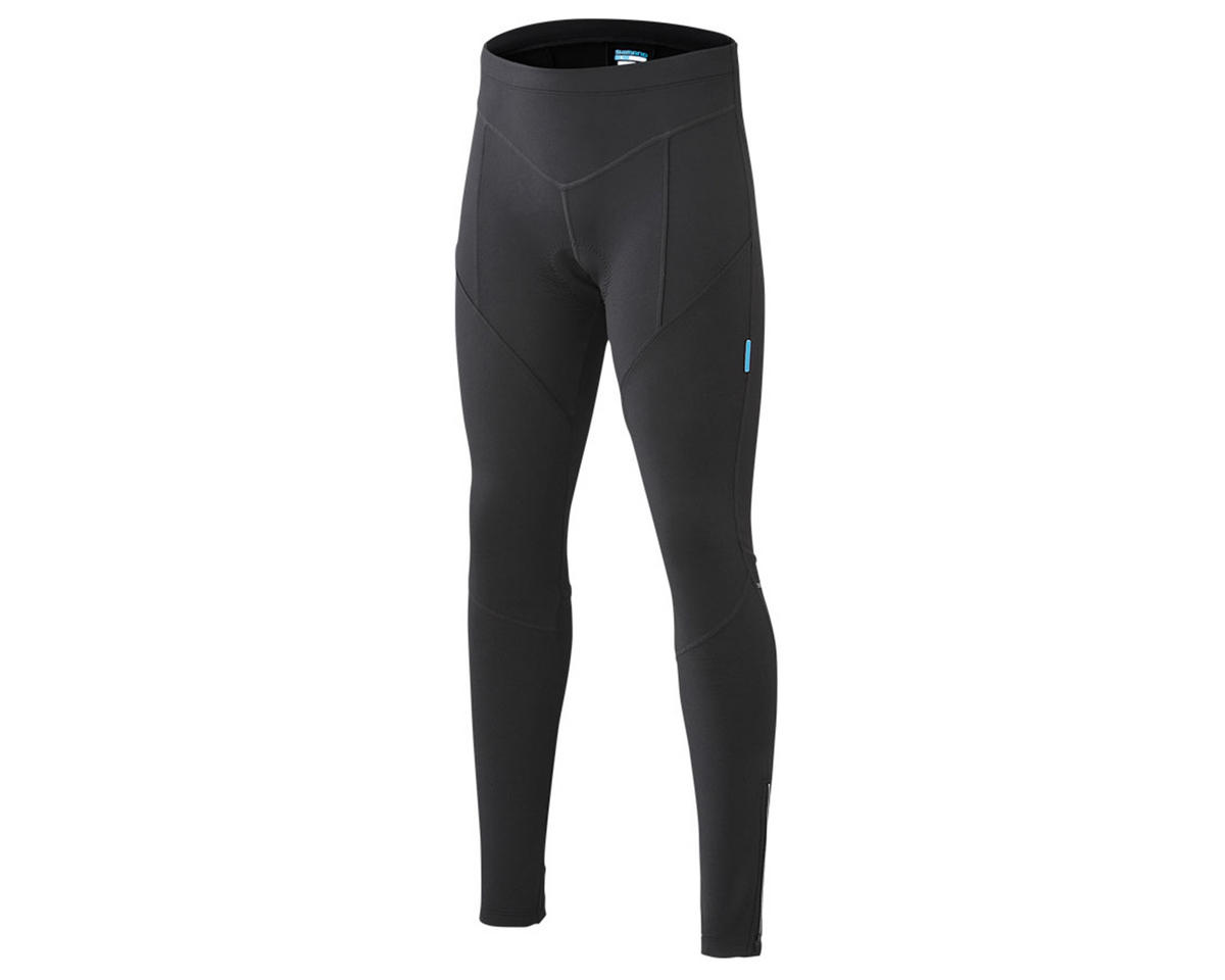 Shimano Women's Performance Long Winter Cycling Tights (Black) (XL)