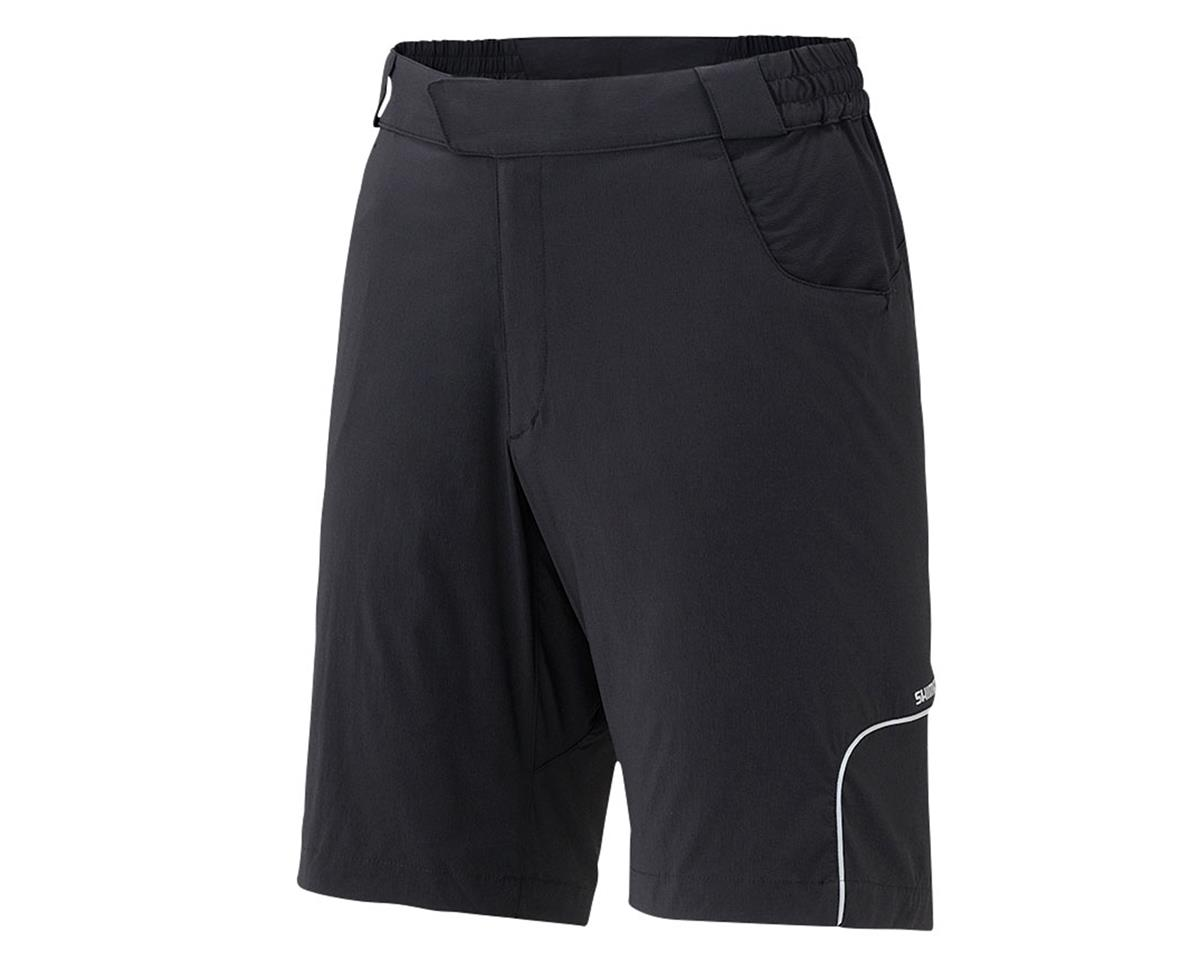 Shimano Touring Bike Shorts (Black) (XL)