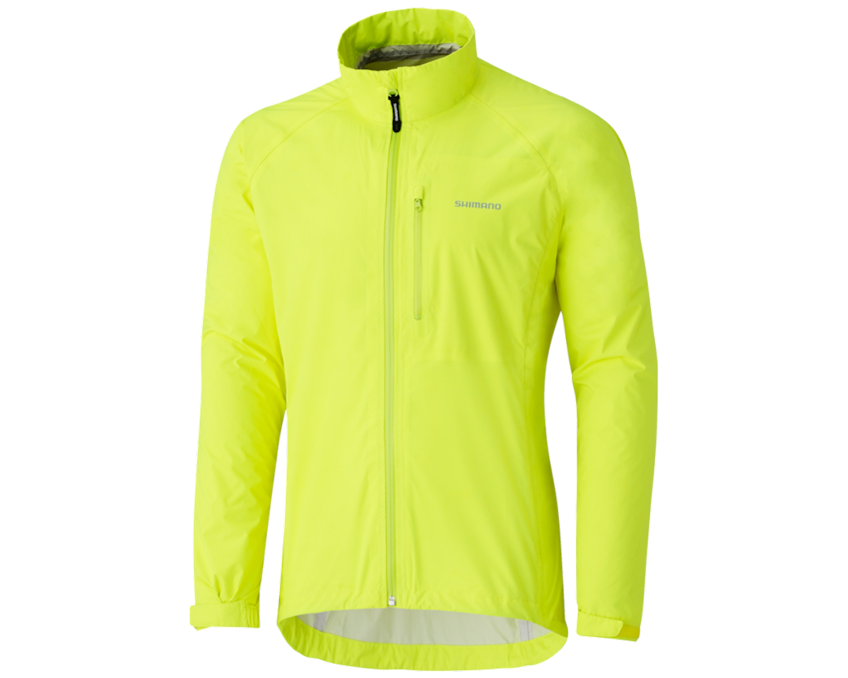 Shimano Explorer Rain Jacket Neon Yellow (NEON) (2XS)