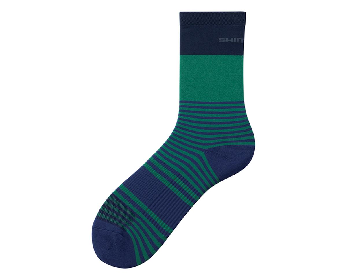 Shimano Original Tall Socks (Green) (L/XL)