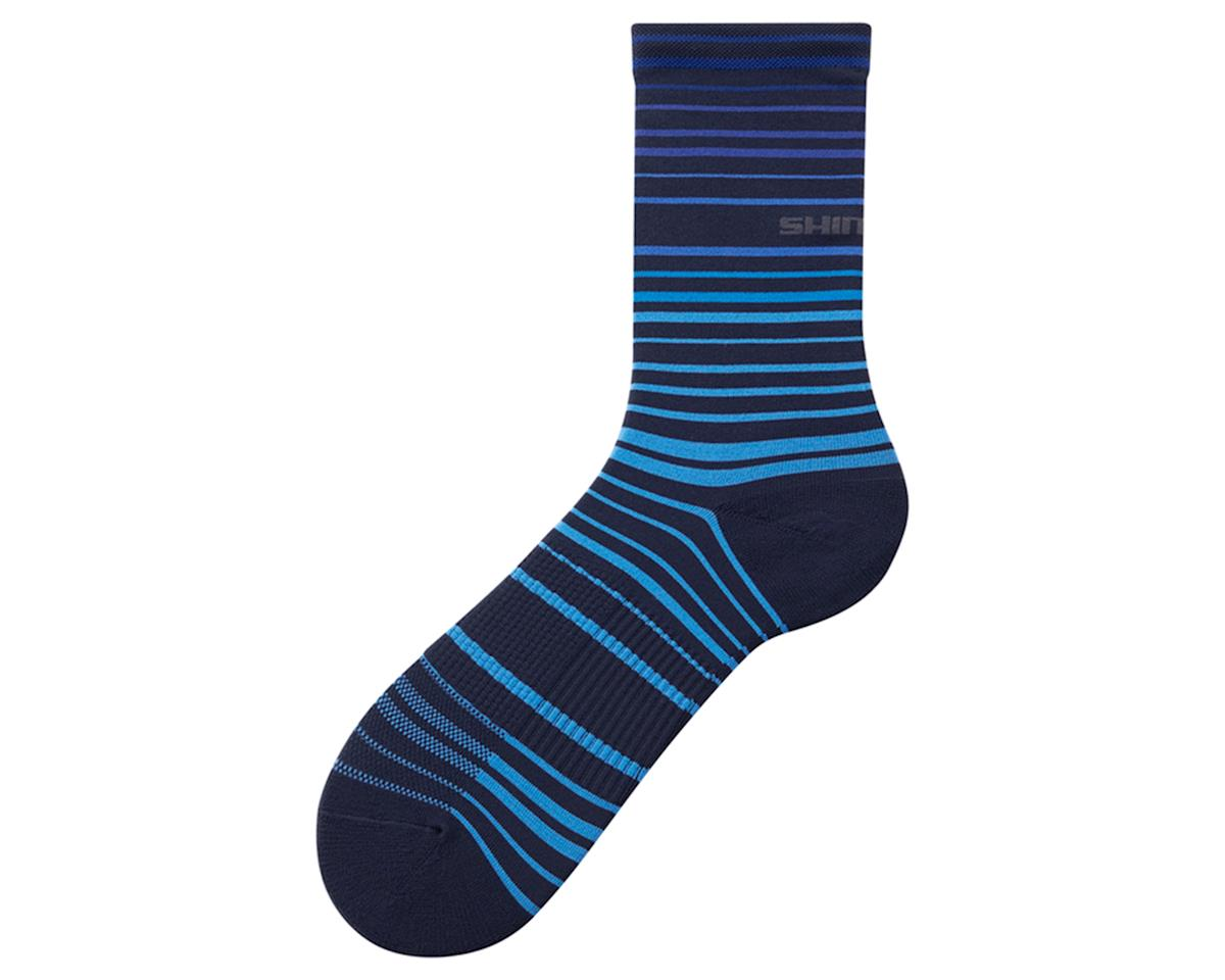 Shimano Original Tall Socks (Navy/Blue) (S/M)