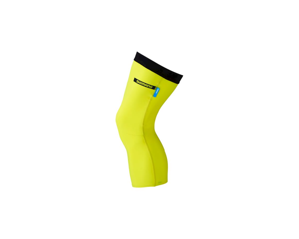 Shimano Knee Warmer (Neon Yellow)