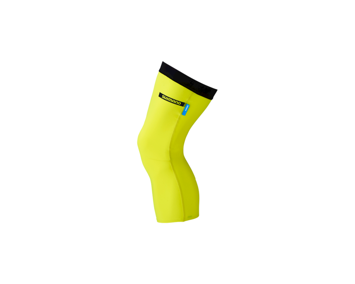 Shimano Knee Warmer (Neon Yellow) (L)