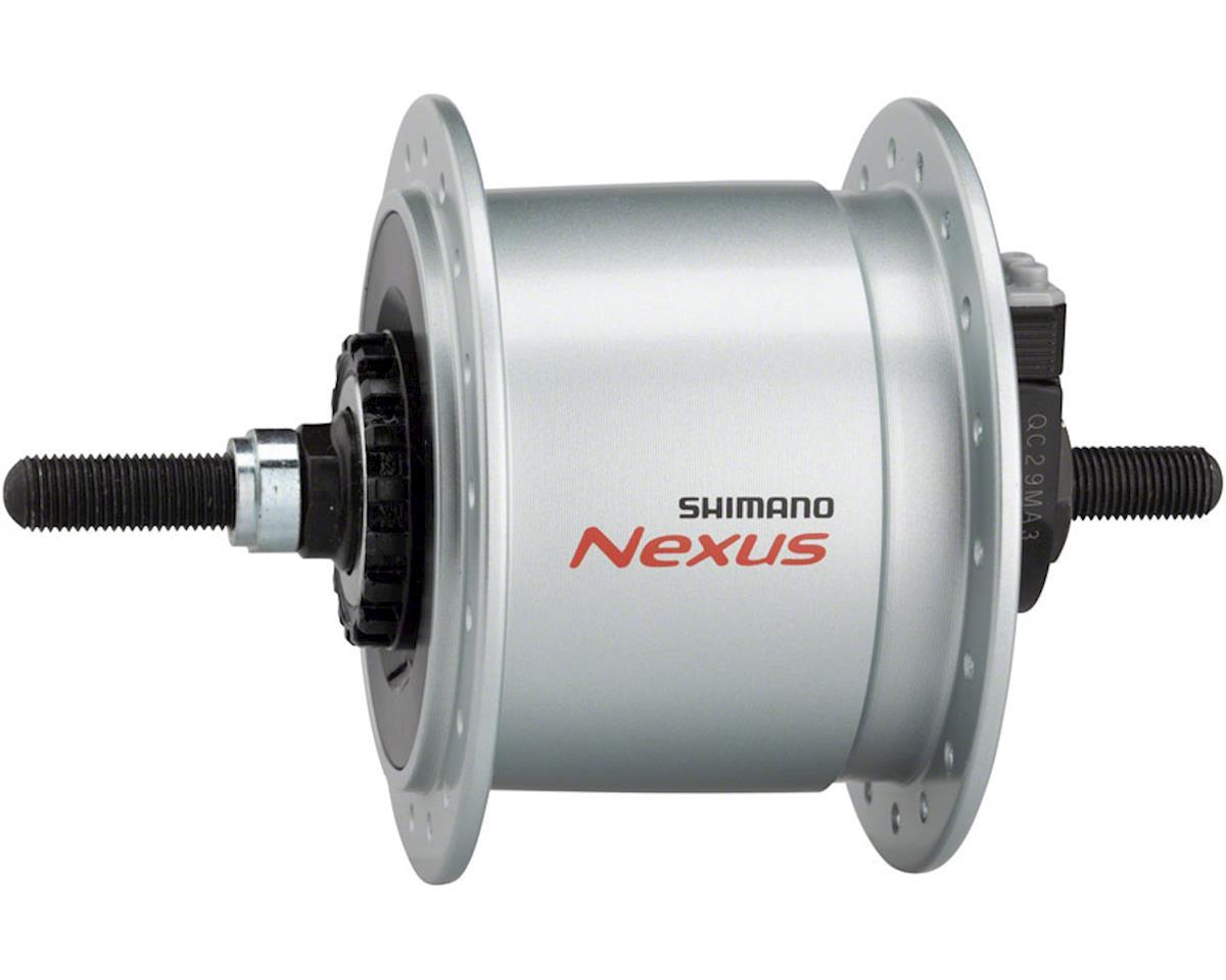 Shimano DH-C60003 36h Dynamo Hub (Silver) (Front) (Roller Brake)