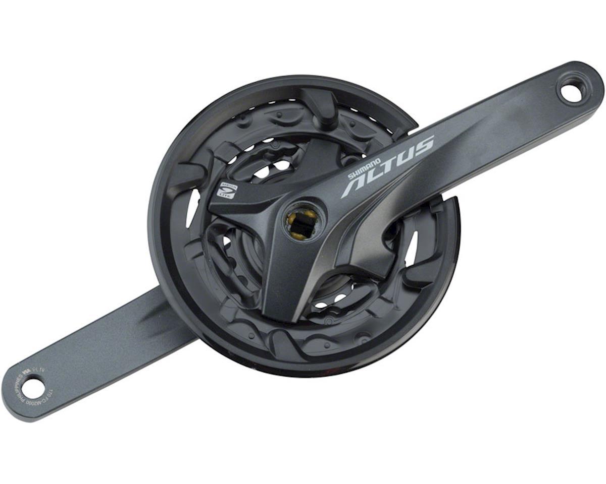Shimano Altus M2000 Crankset w/ Chainguard (22/30/40T) (170mm)