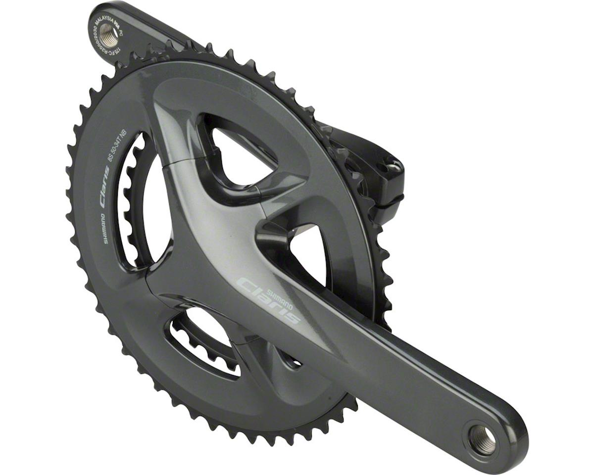 Shimano Claris FC-R2000 Crankset - 175mm, 8-Speed, 50/34t, 110 BCD, Hollowtech I