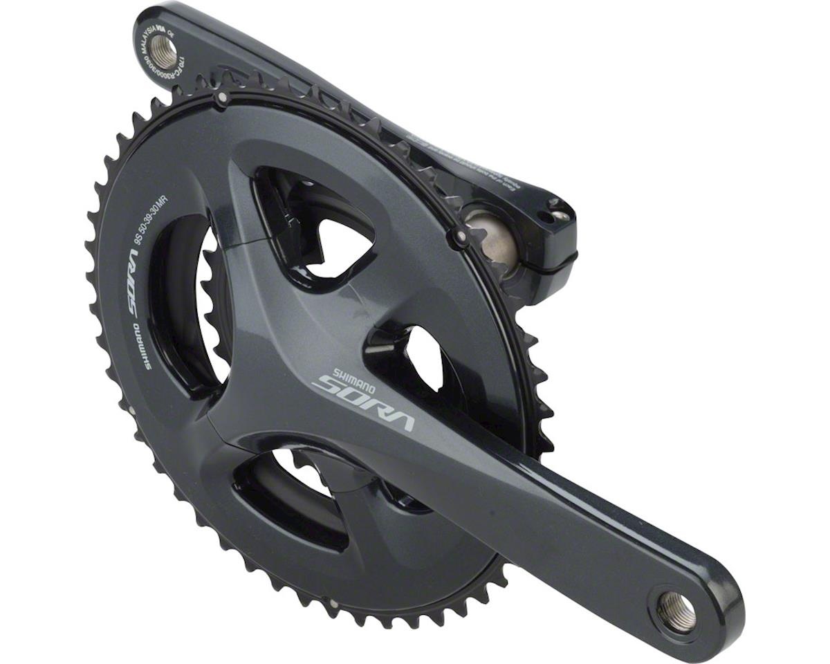 Shimano Sora R3030 9-Speed Crankset (165mm) (30/39/50t)