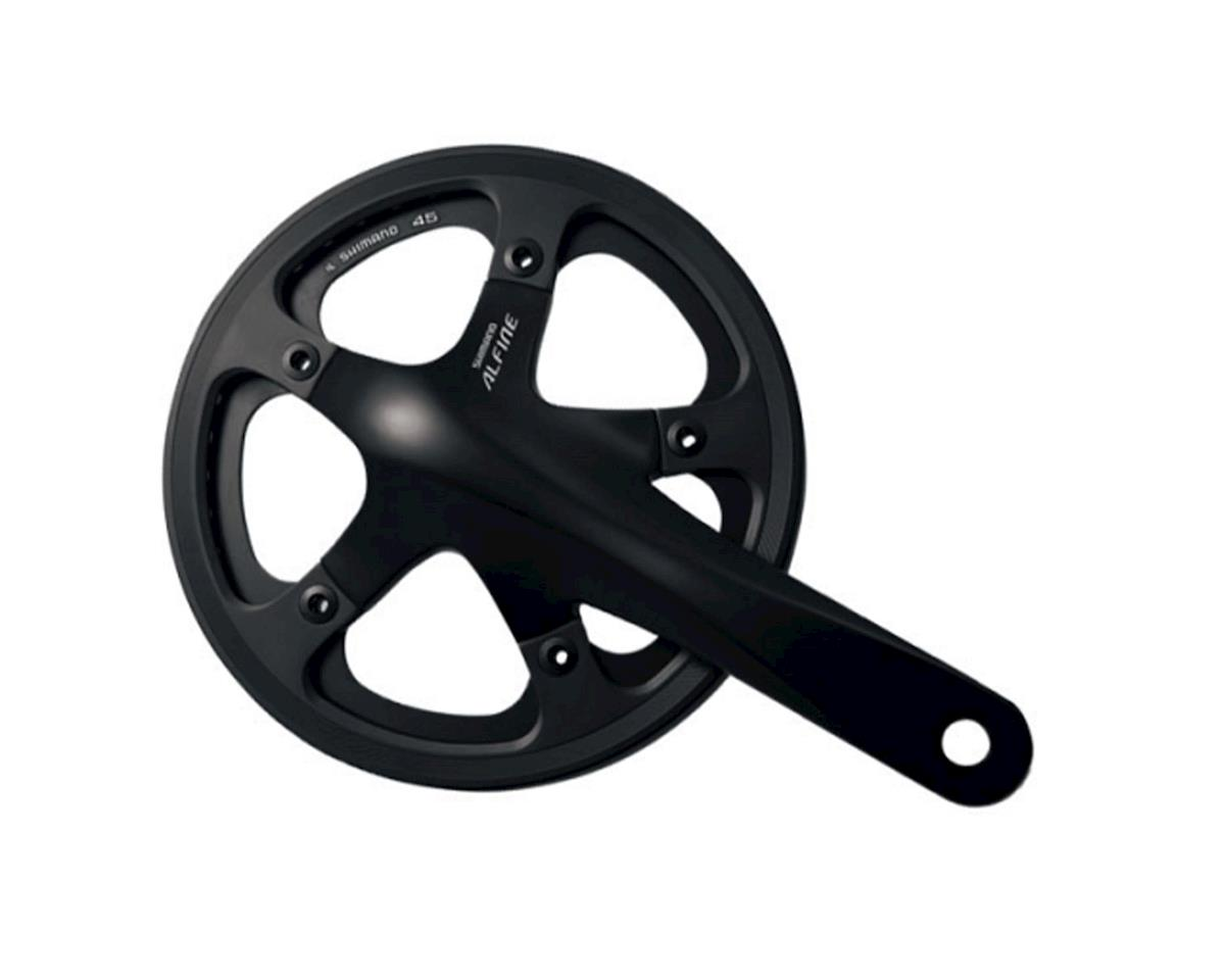 Shimano FC-S501 Alfine Crankset (Black) (170mm) (45T) (w/ BB Parts) (Bsa)