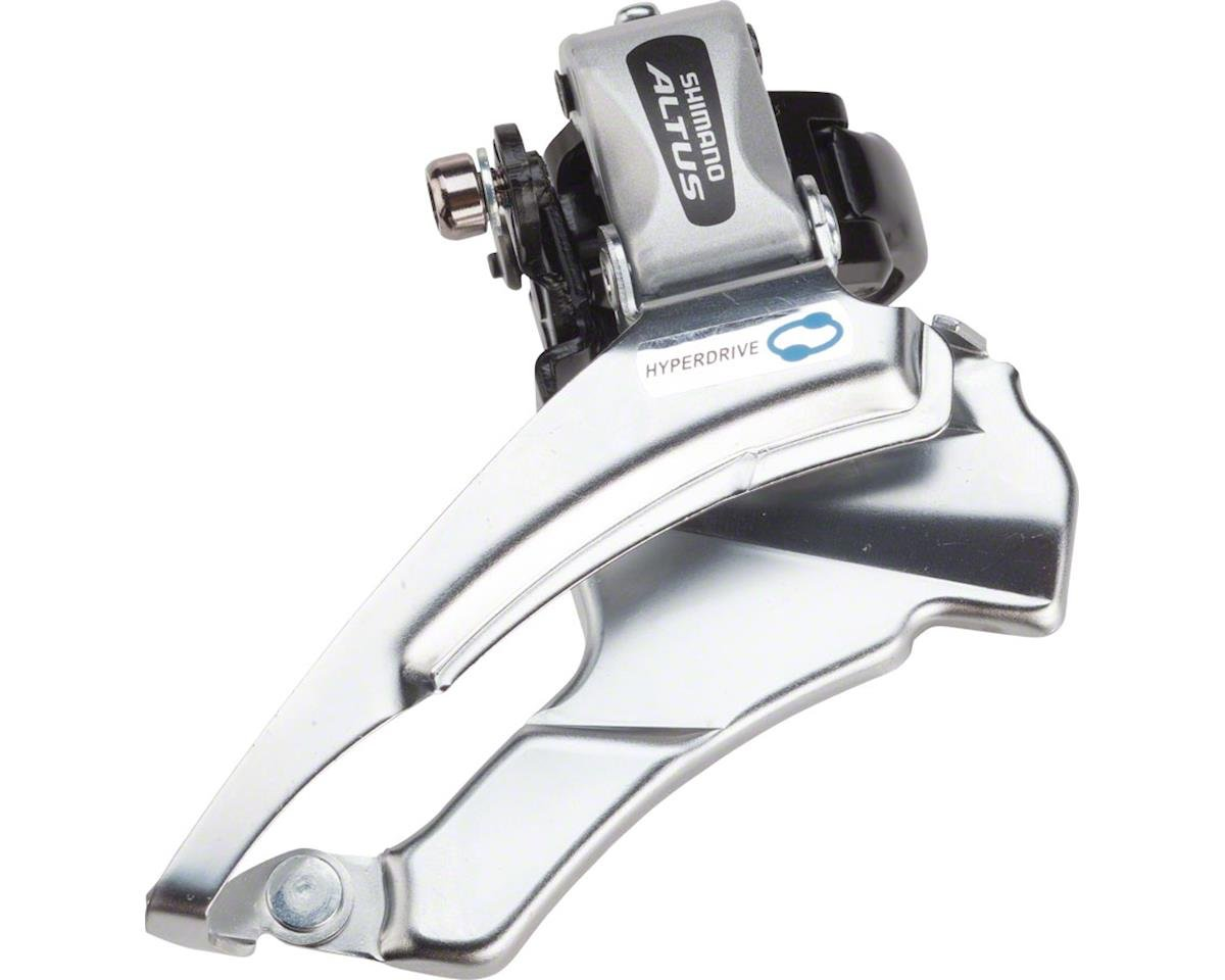 Shimano Altus FD-M313 7/8-Speed Triple Front Derailleur (28 6/31 8/34 9mm)  (Down-Swing) (Dual-Pull)