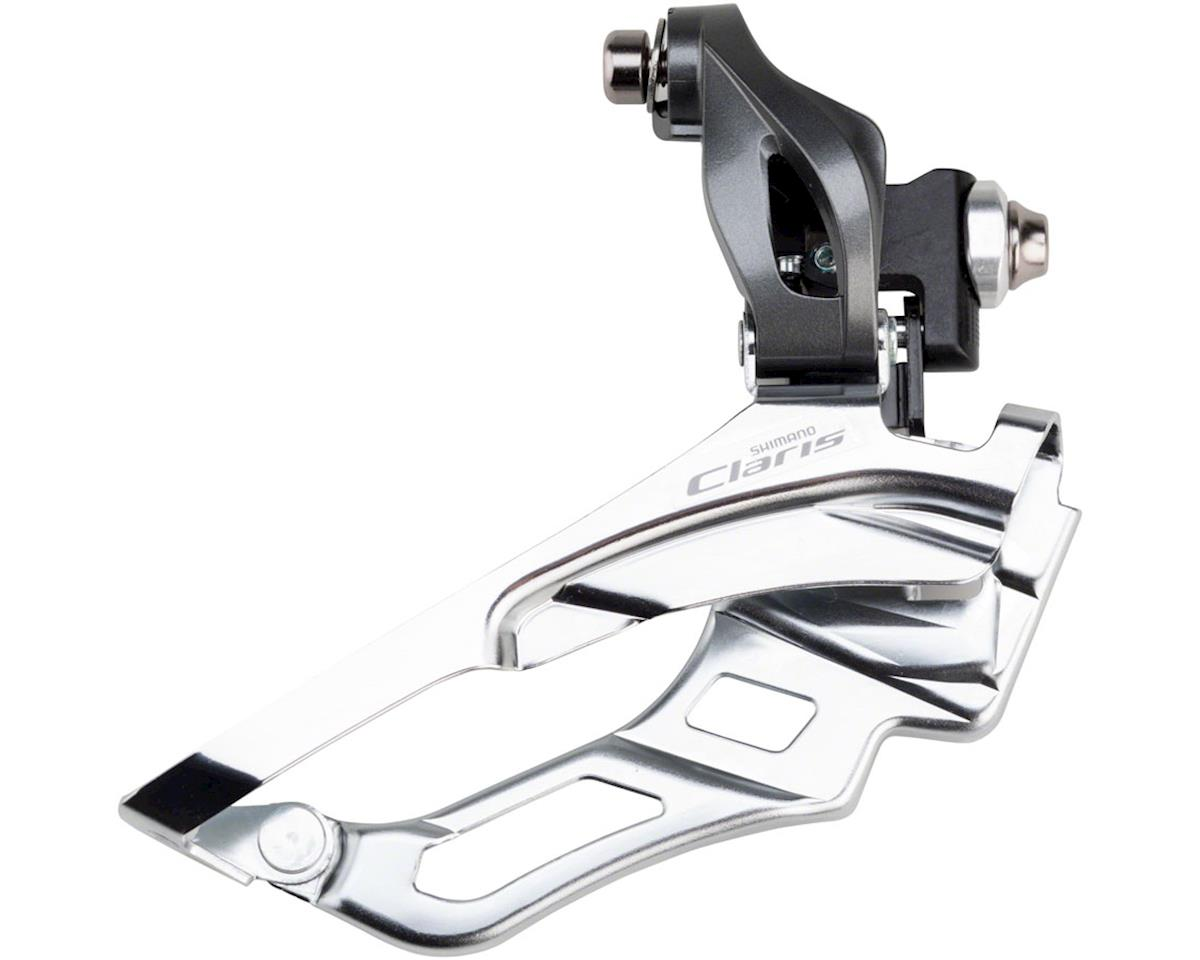 Shimano Claris FD-R2030 8-Speed Triple Front Derailleur (Bottom-Pull) (Braze-On)