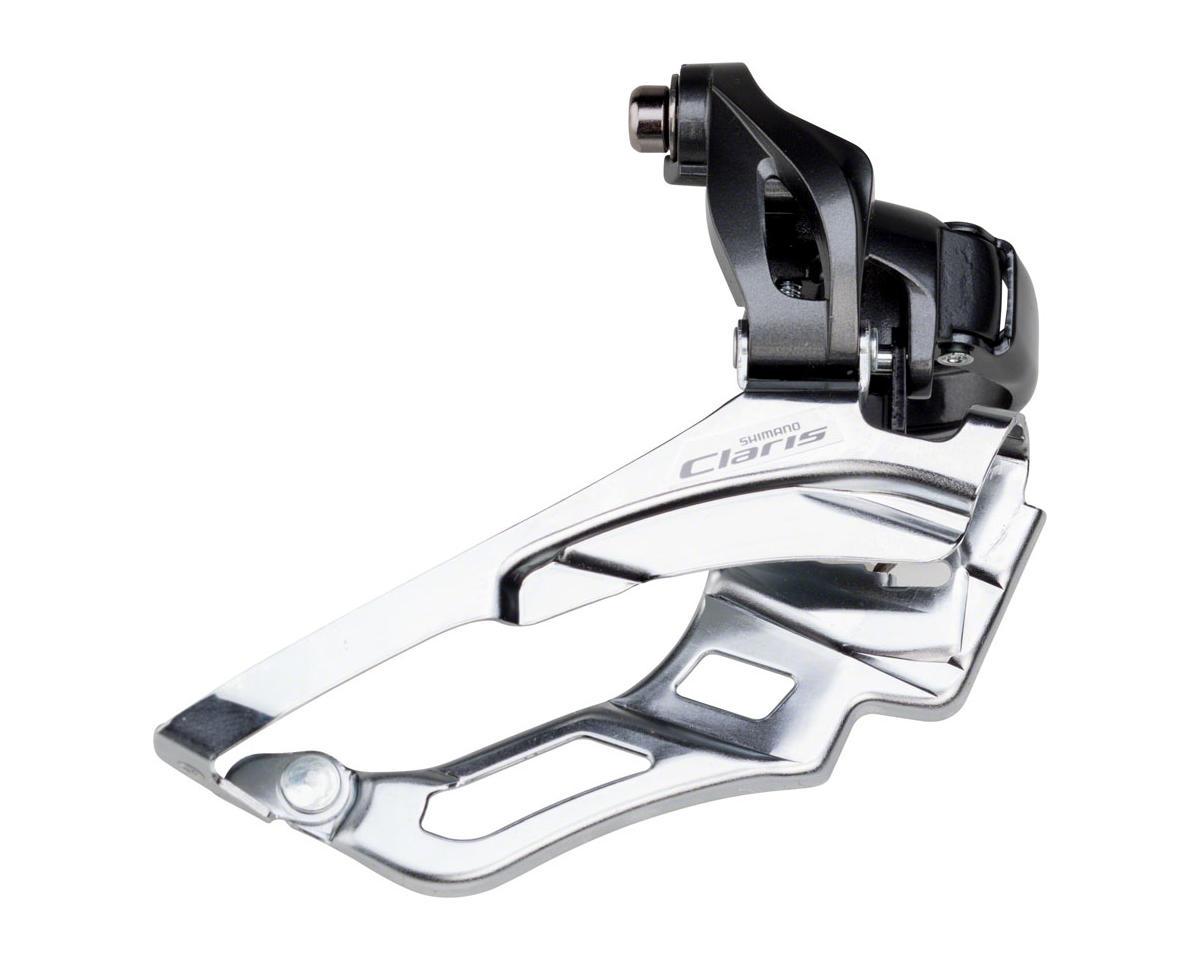 SHIMANO CLARIS R2030  8-SPEED TRIPLE 28.6//31.8//34.9mm ROAD FRONT BIKE DERAILLEUR