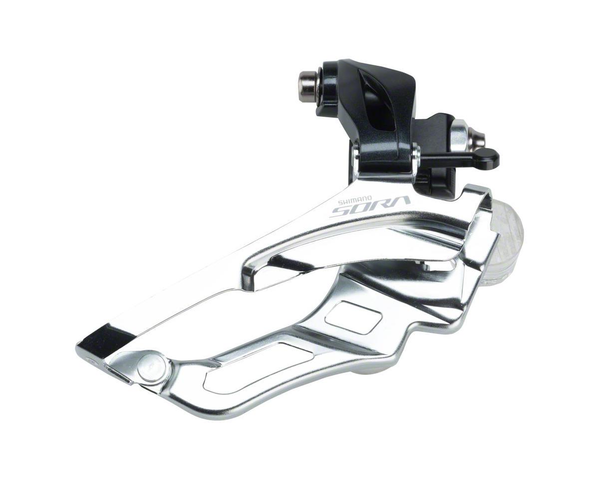 Microshift R9 Front Derailleur 9-Speed Double 52T Max BrazeOn Shimano Compatible