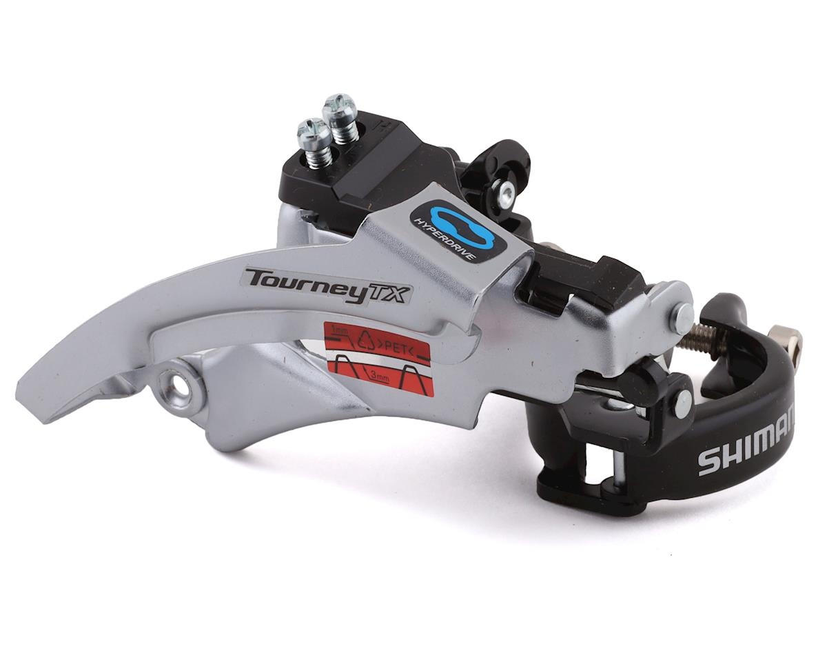 Shimano Tourney FD-TX800 3x7/8 Front Derailleur (28.6/31.8/34.9mm) (Top-Swing)